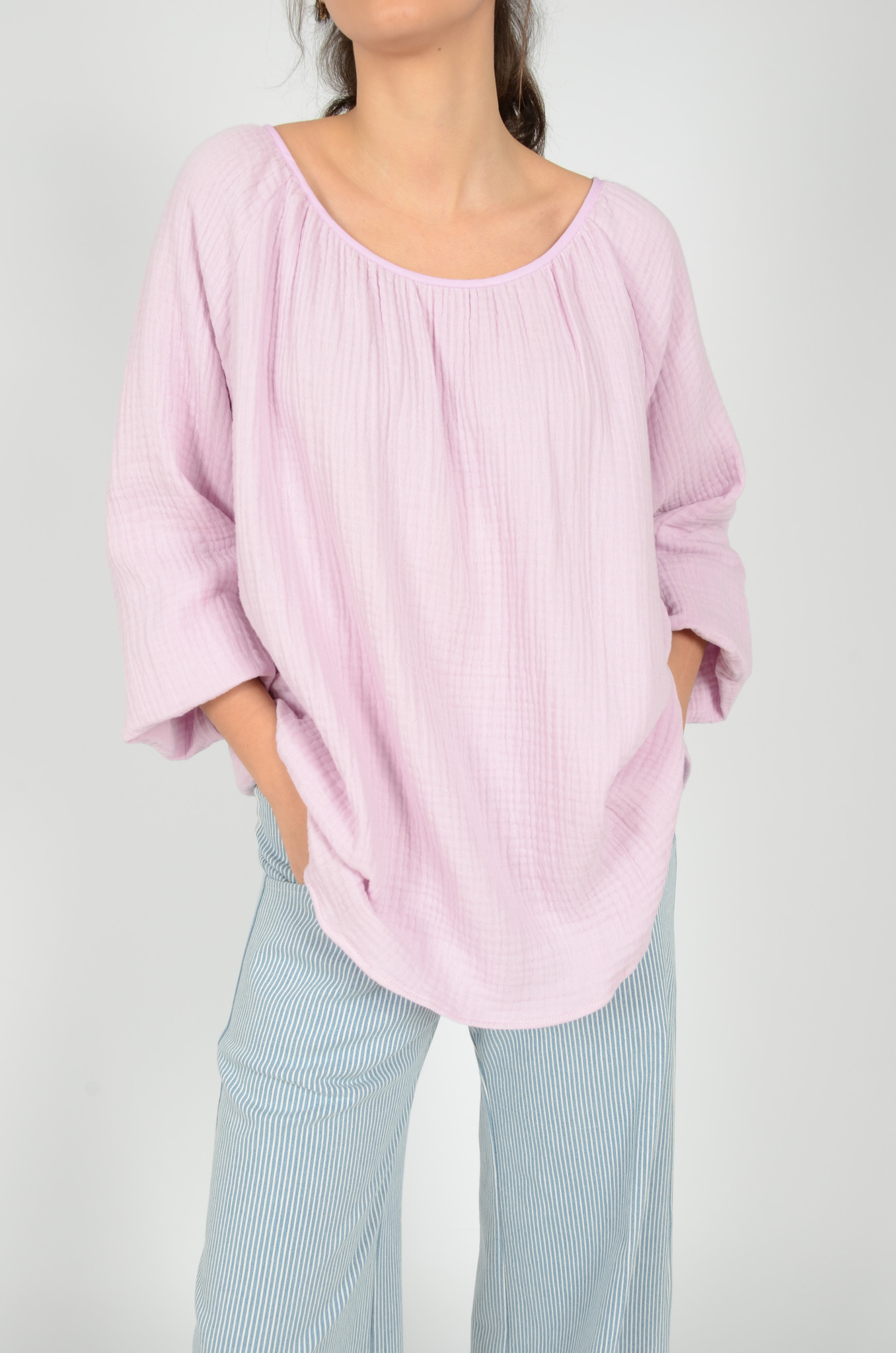 MORNING BLOUSE IN LILAC-1
