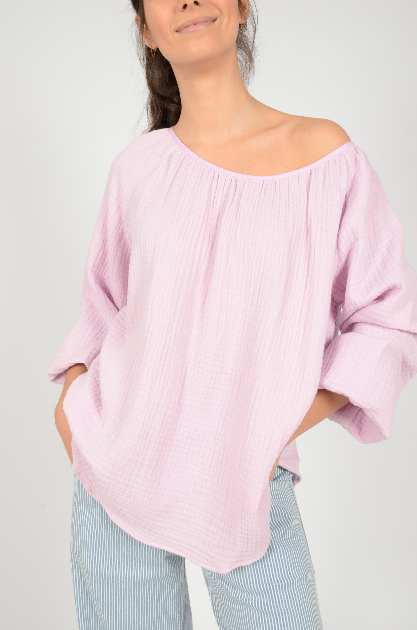 MORNING BLOUSE IN LILAC-2