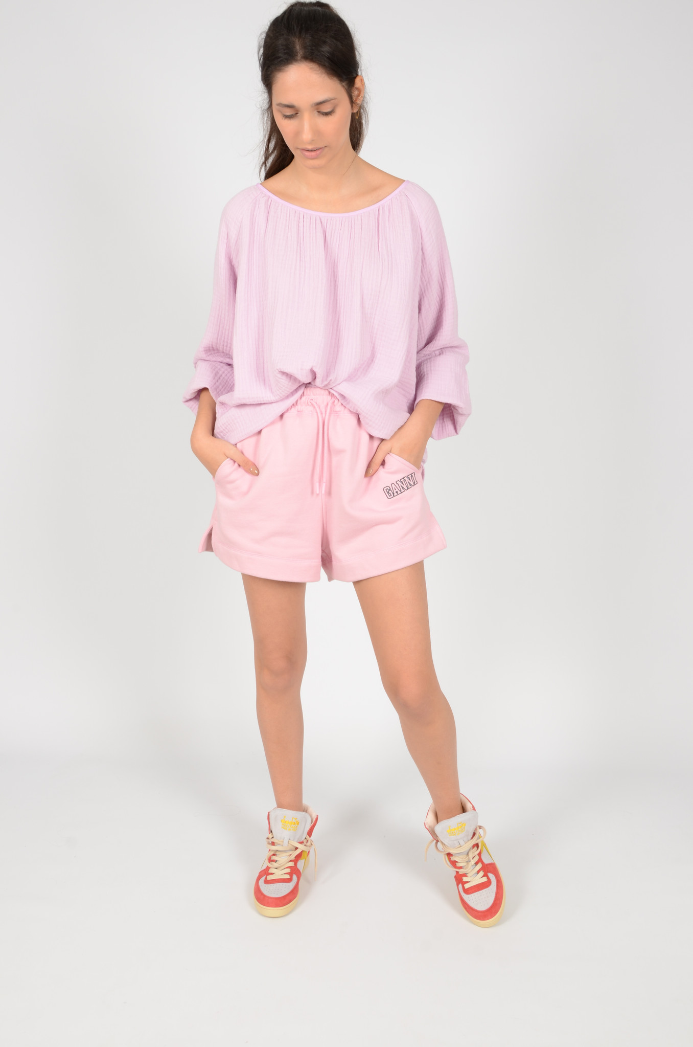 MORNING BLOUSE IN LILAC-7