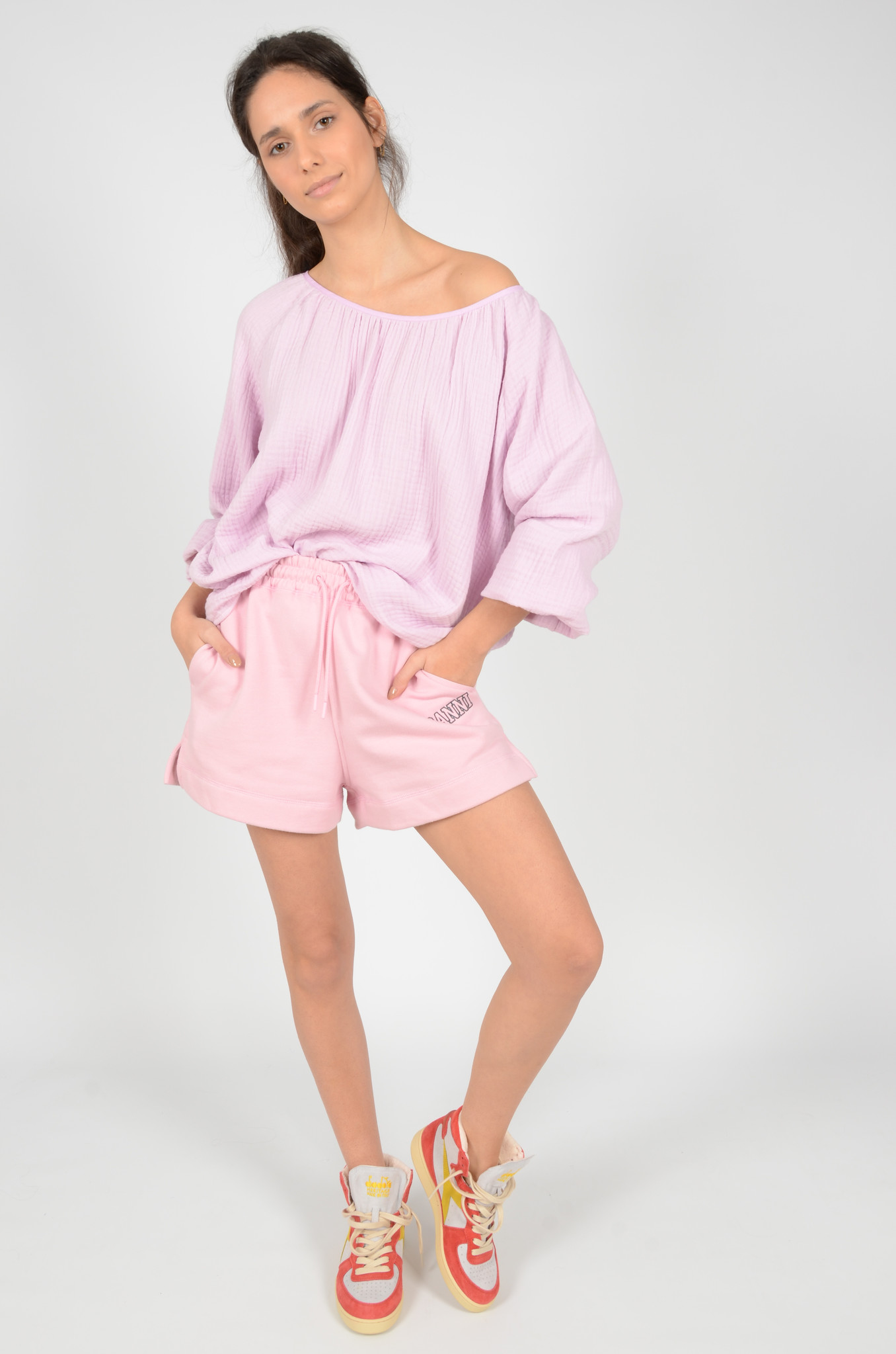 SOFTWARE SHORTS IN SWEET LILAC-5