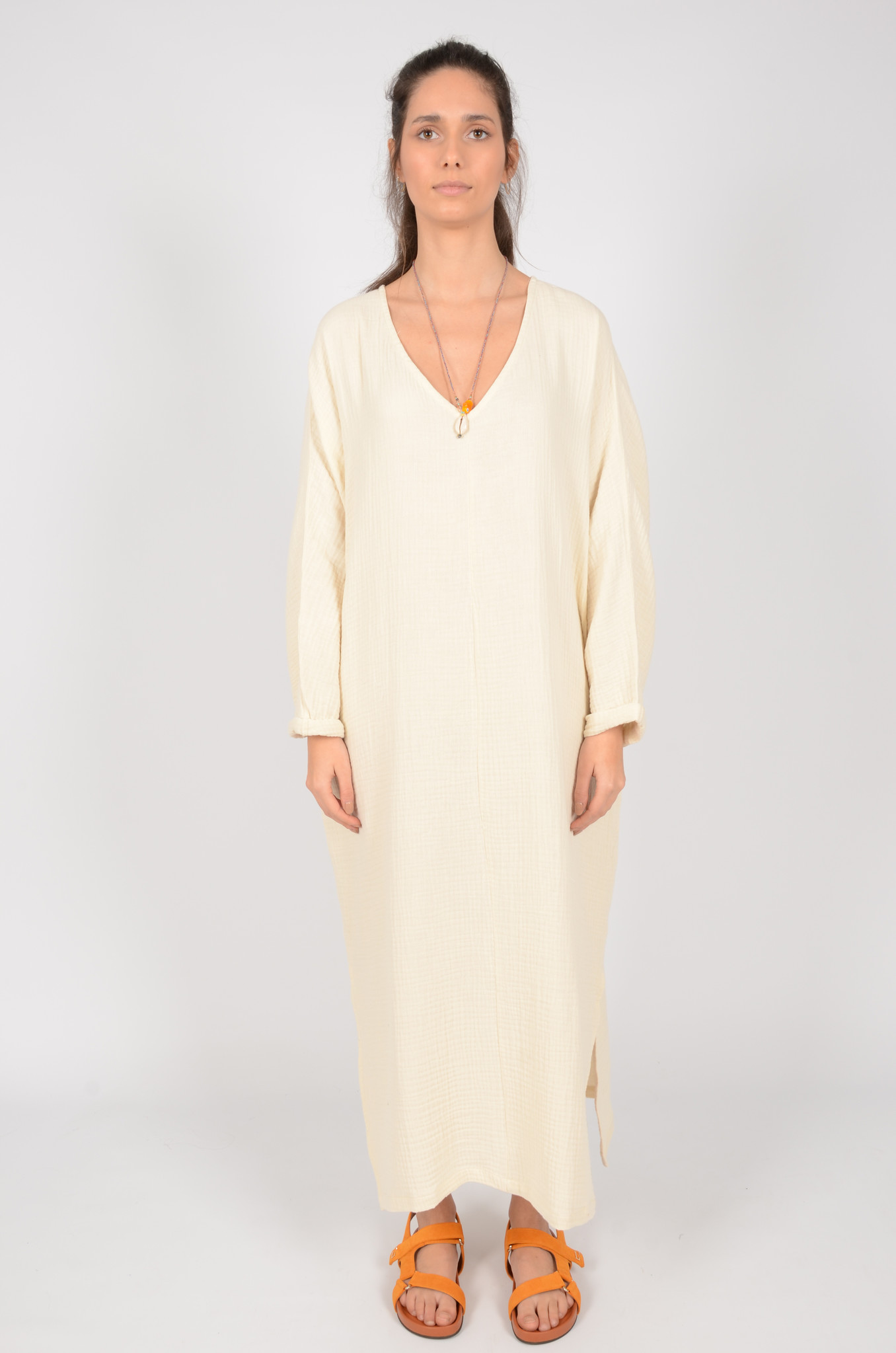 SMH SONEVA DRESS IN BUTTER-5