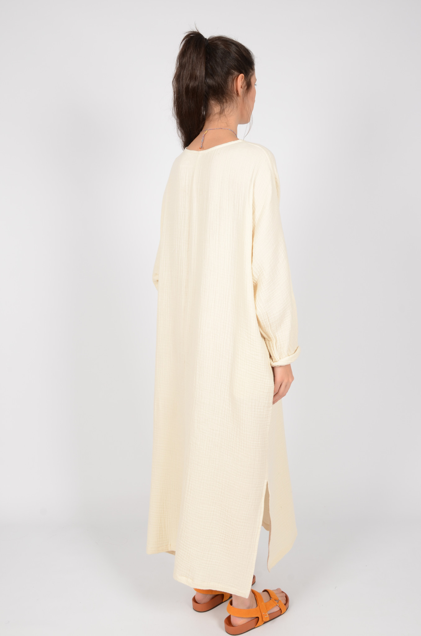 SMH SONEVA DRESS IN BUTTER-3