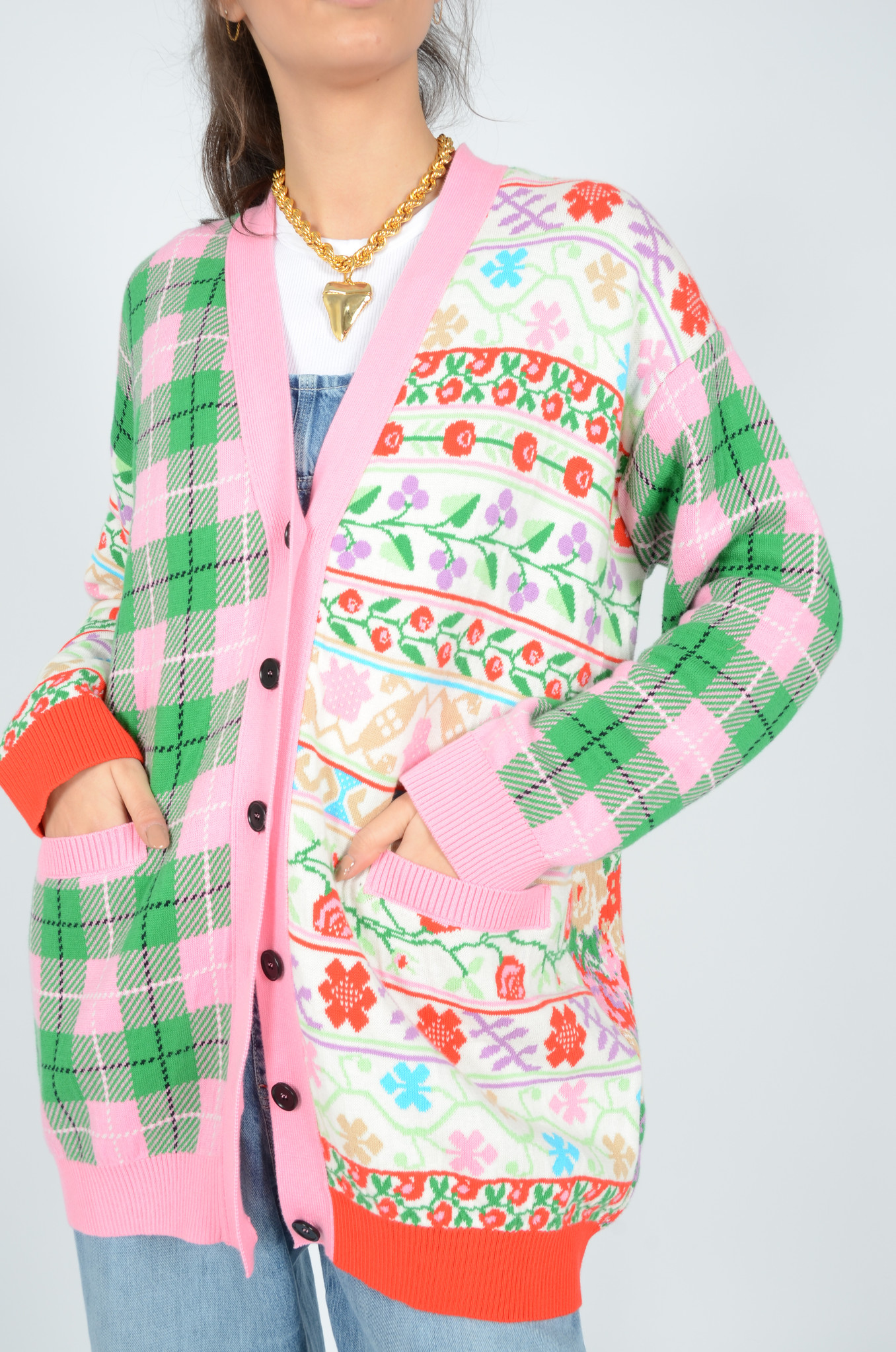 PATCHWORK CARDIGAN-1
