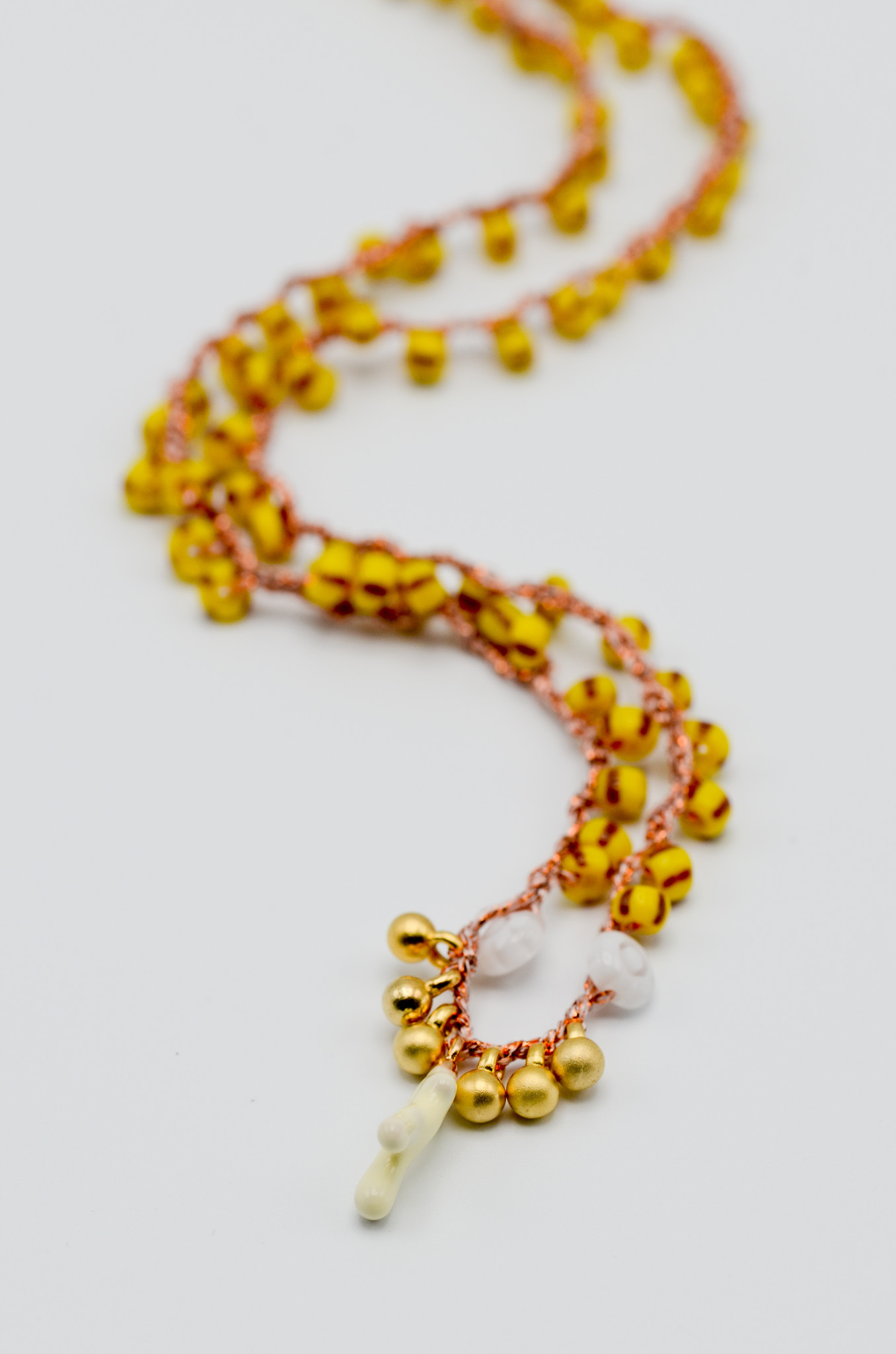 CROCHETED BEAD NECKLACE-4