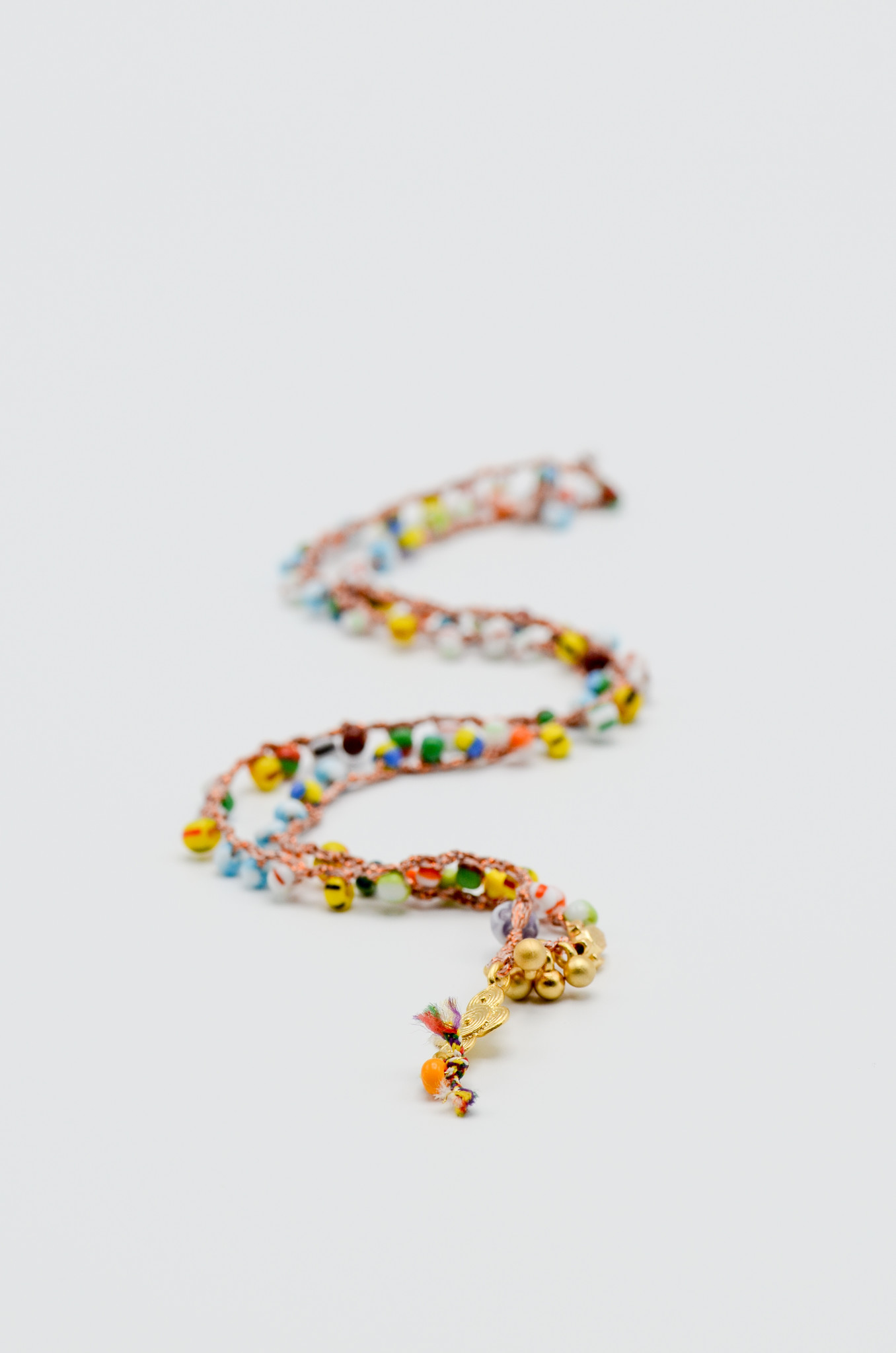 CROCHETED BEAD NECKLACE-6