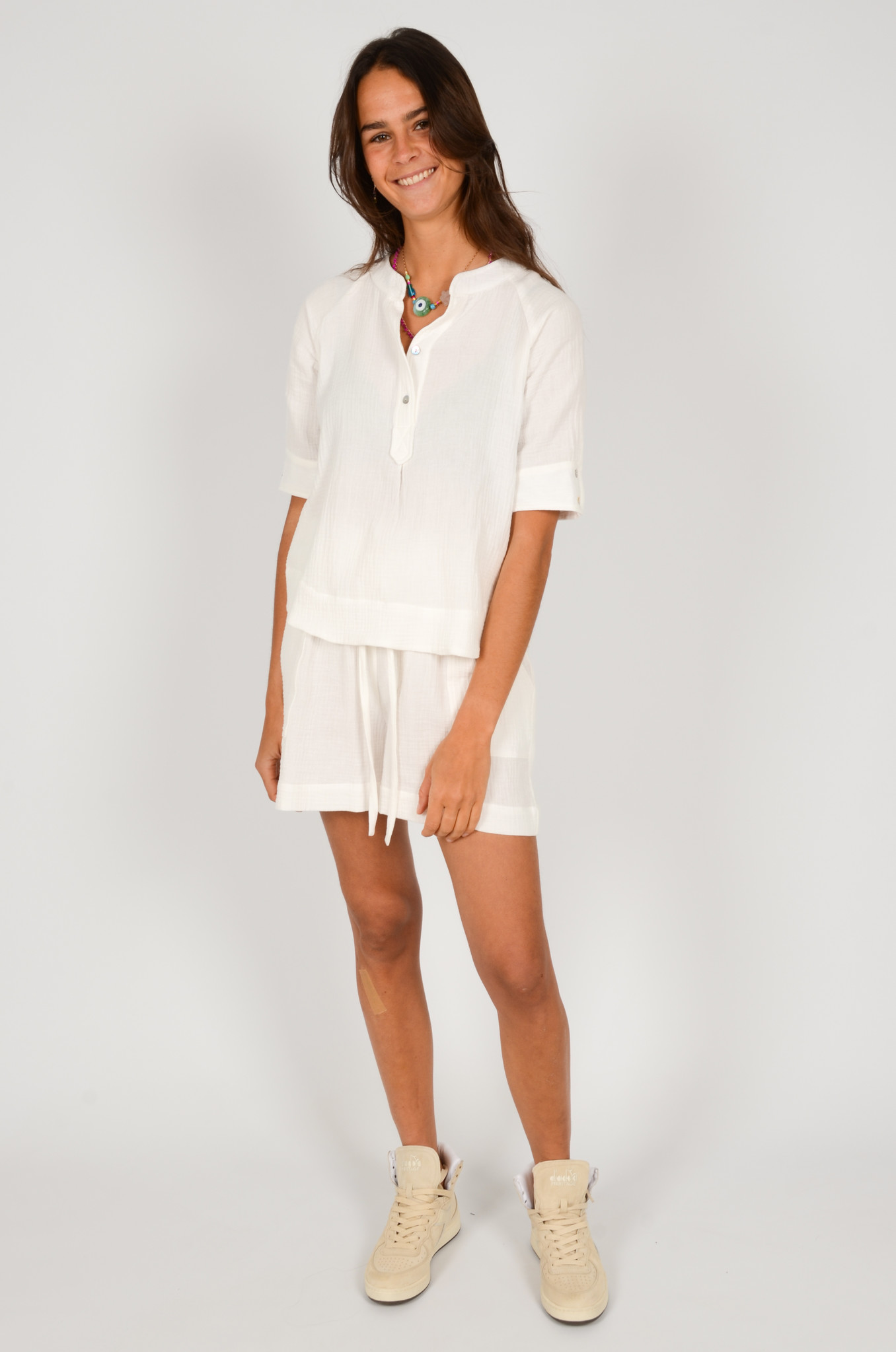 THEA SHIRT IN WHITE-5