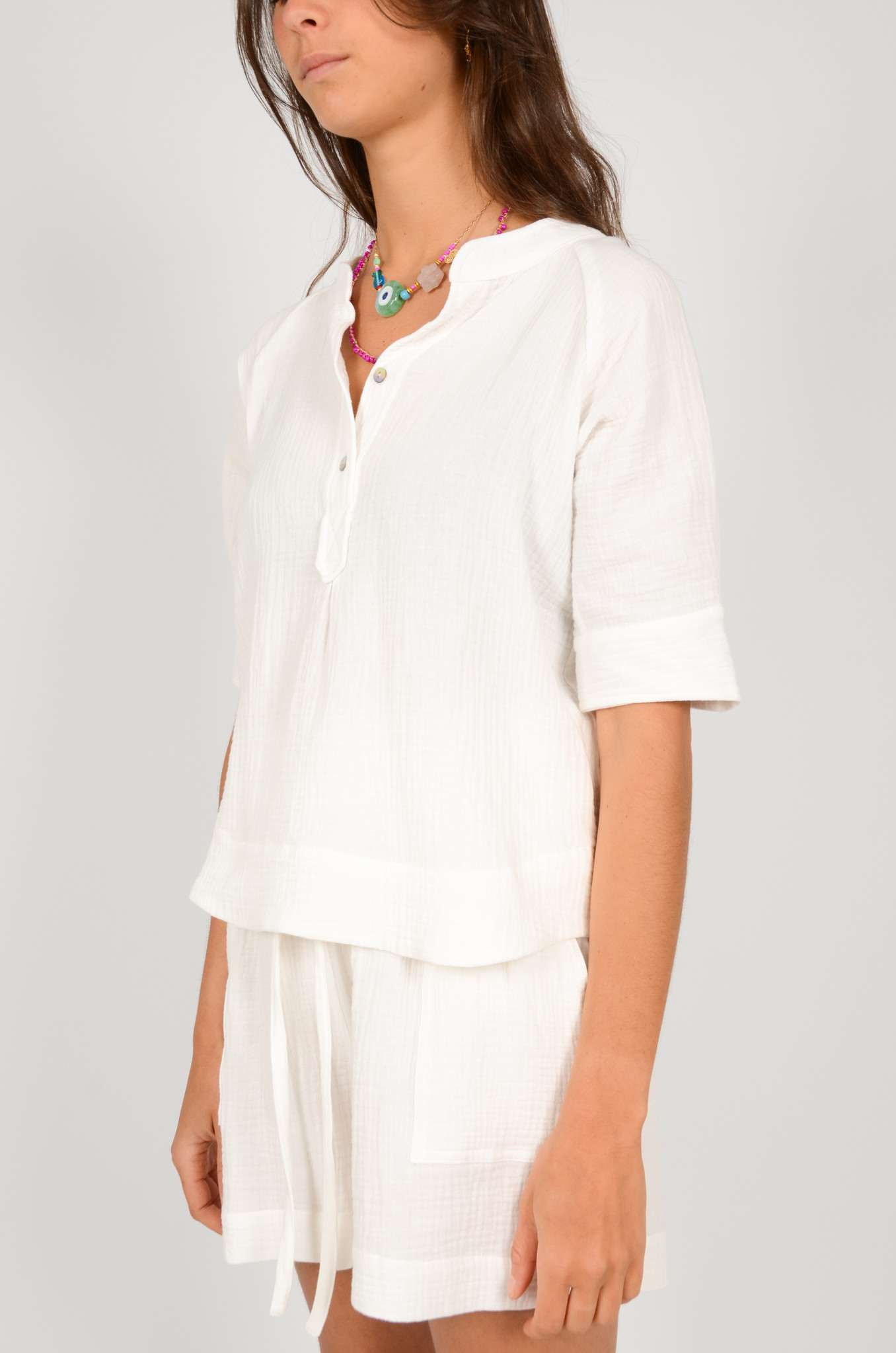 THEA SHIRT IN WHITE-2