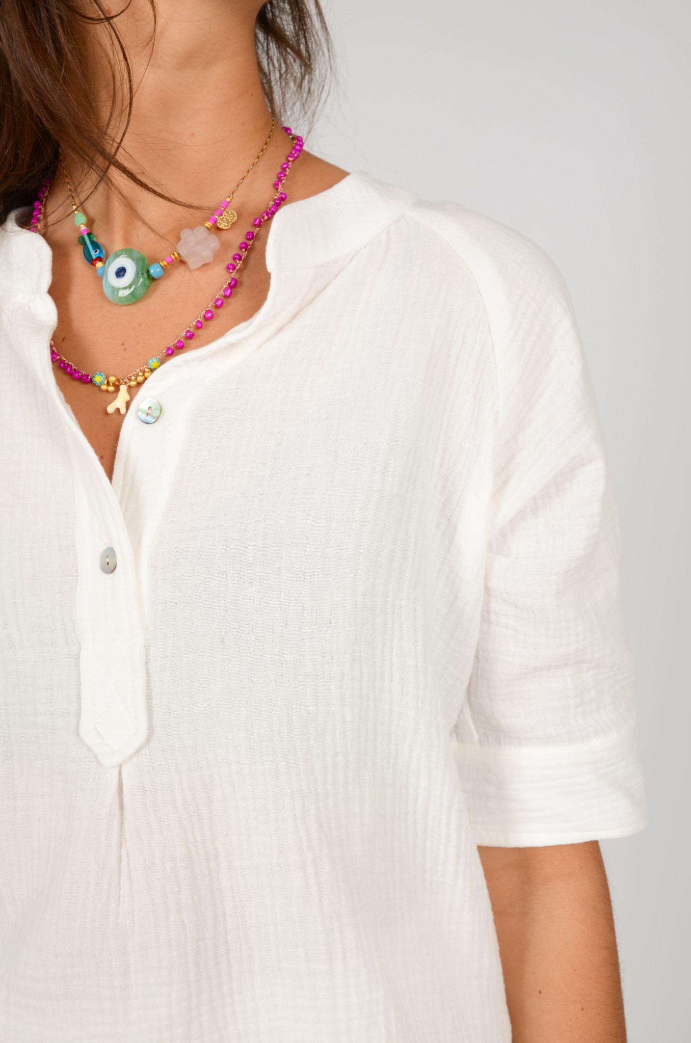 THEA SHIRT IN WHITE-4