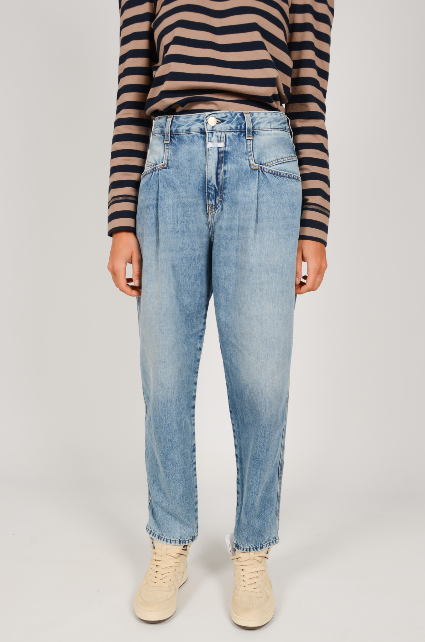 PEARL JEANS IN MID BLUE-1