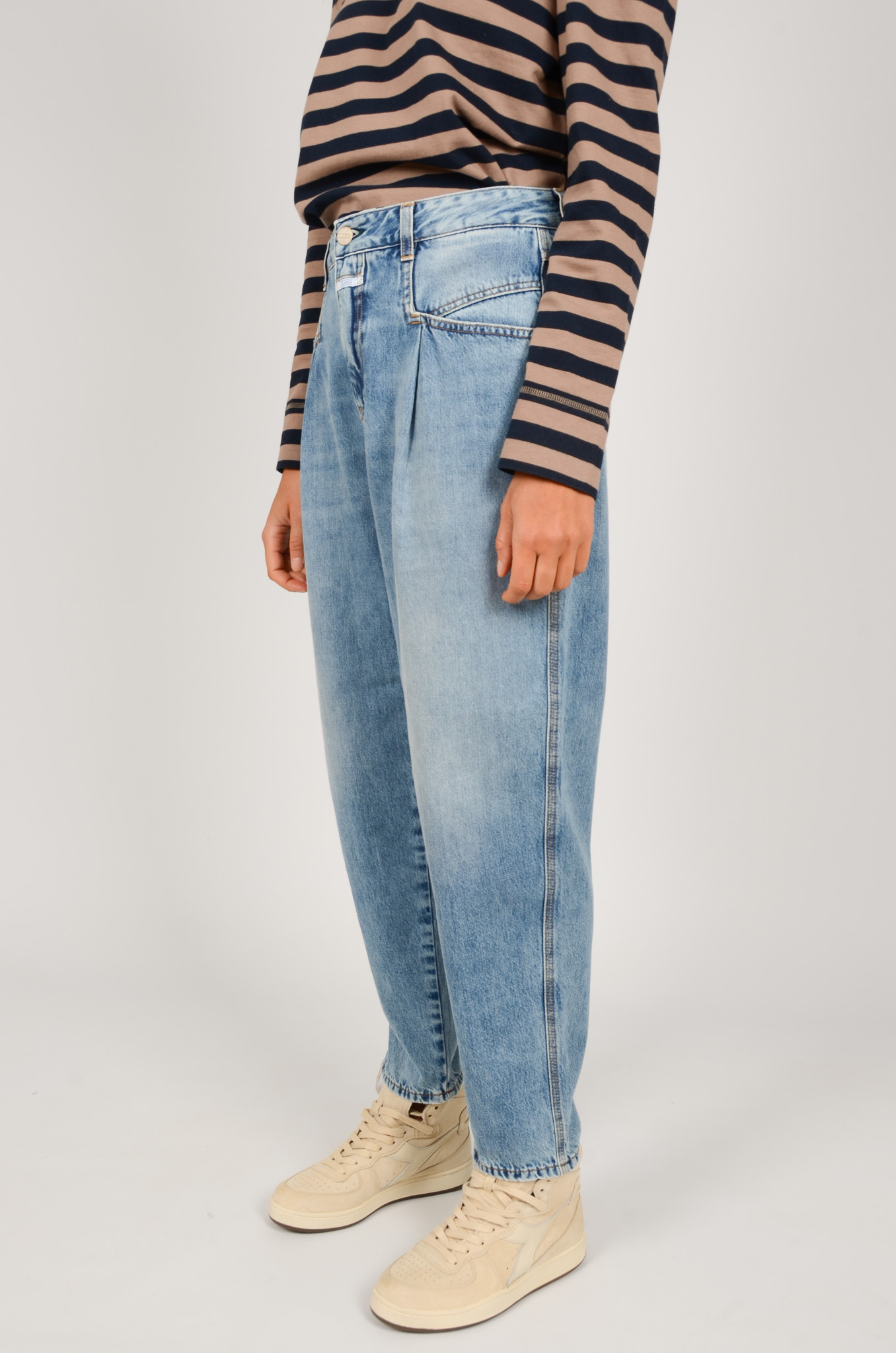PEARL JEANS IN MID BLUE-3
