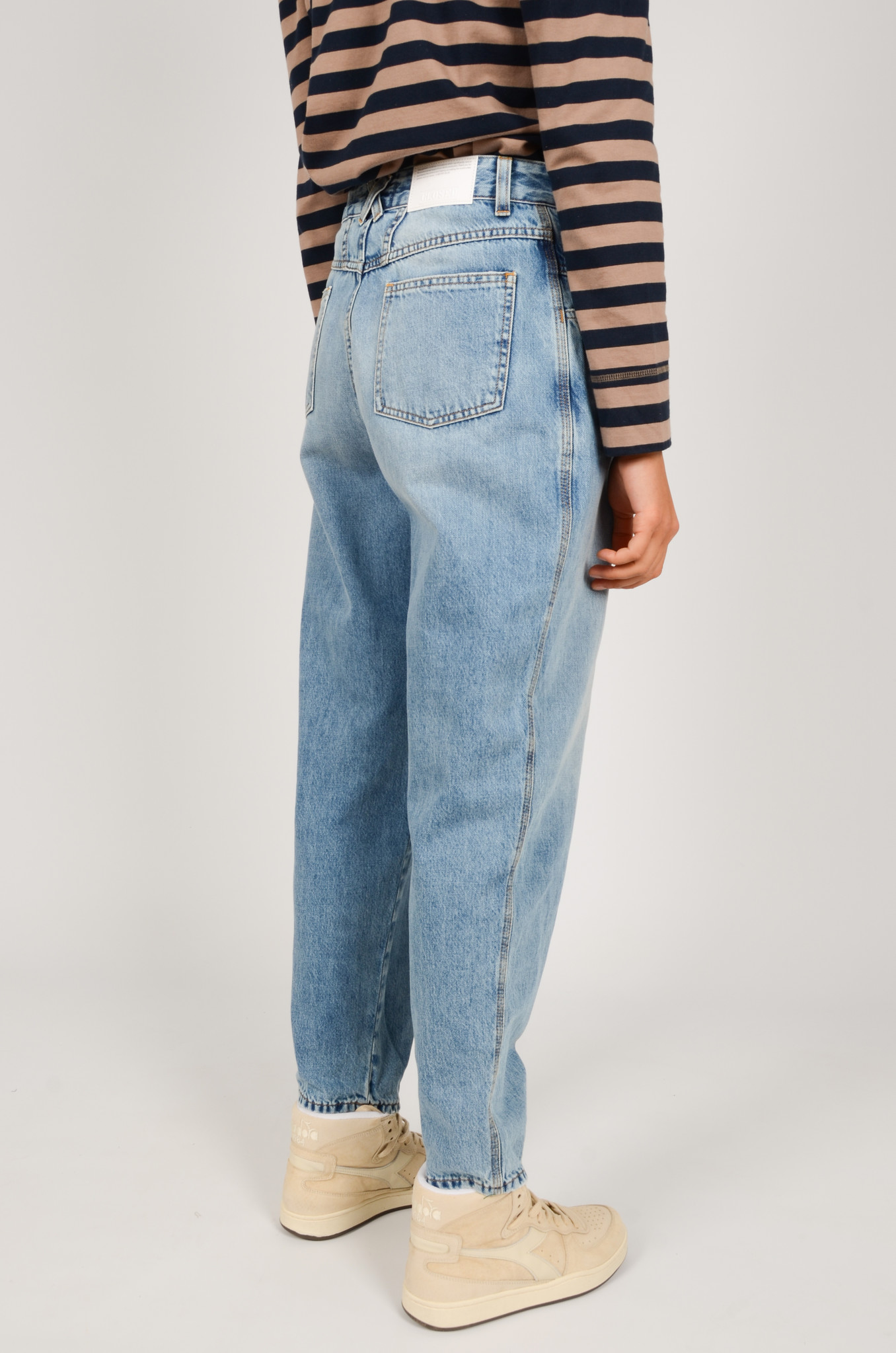 PEARL JEANS IN MID BLUE-4