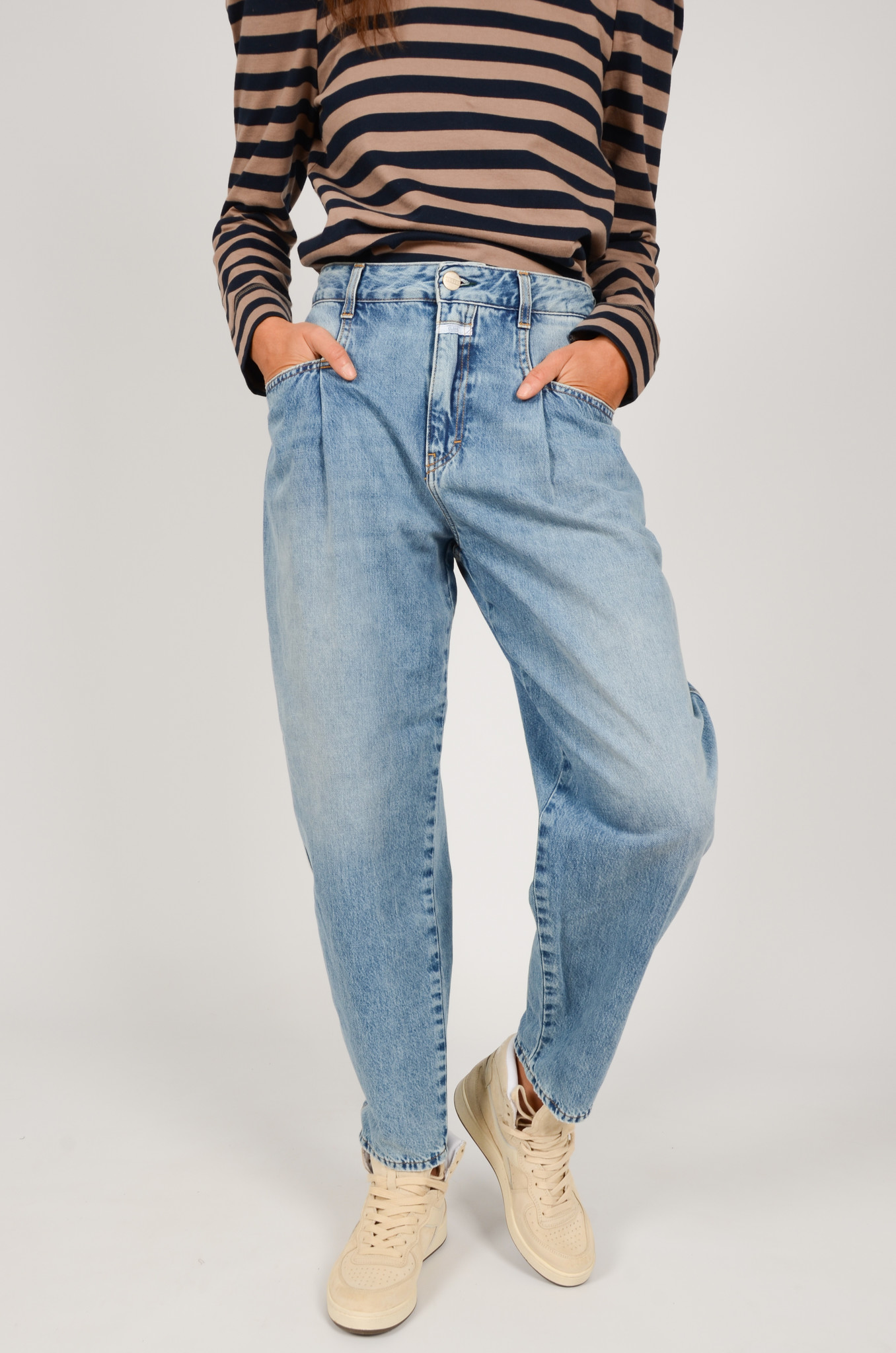 PEARL JEANS IN MID BLUE-2