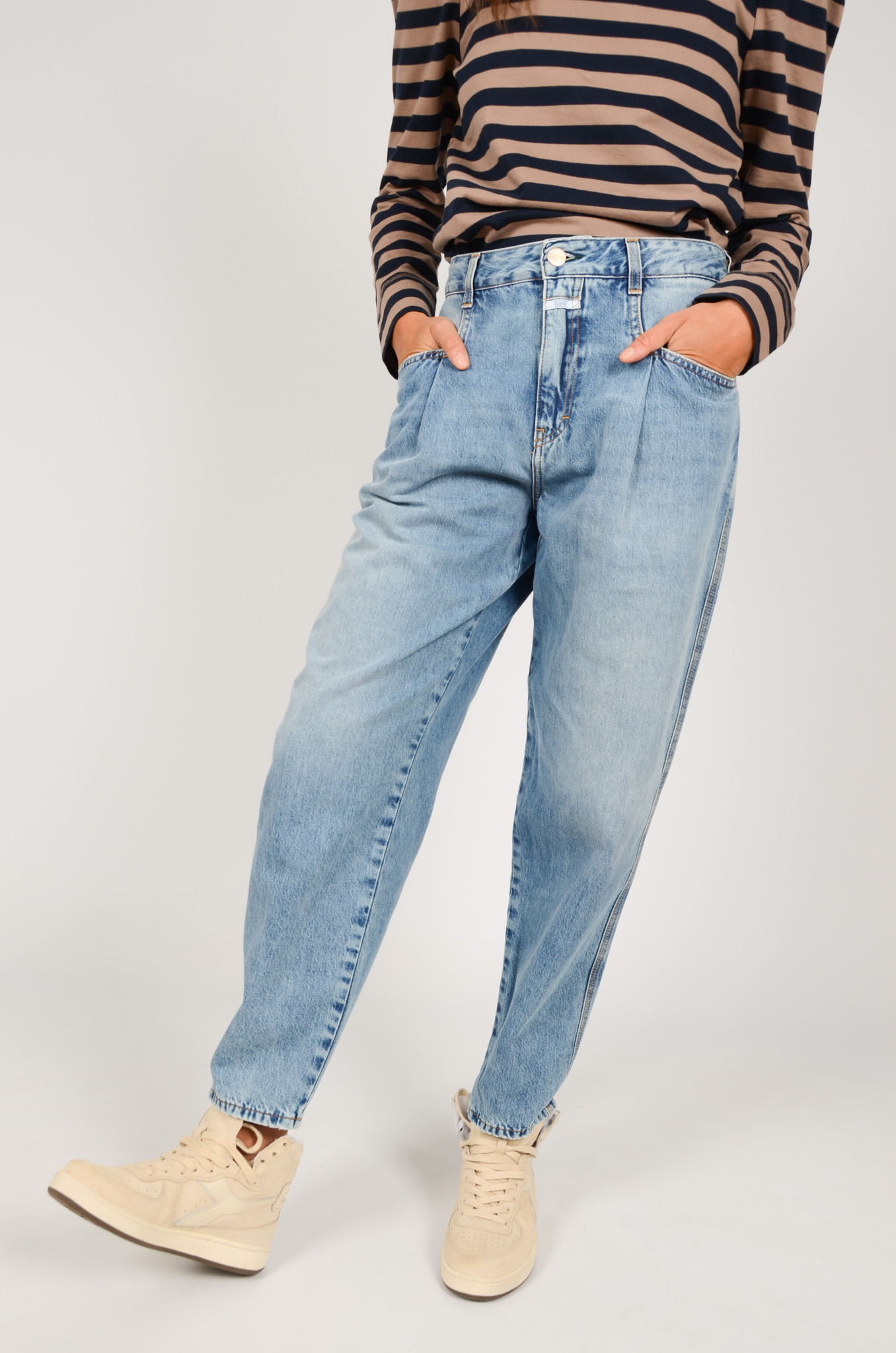PEARL JEANS IN MID BLUE-5