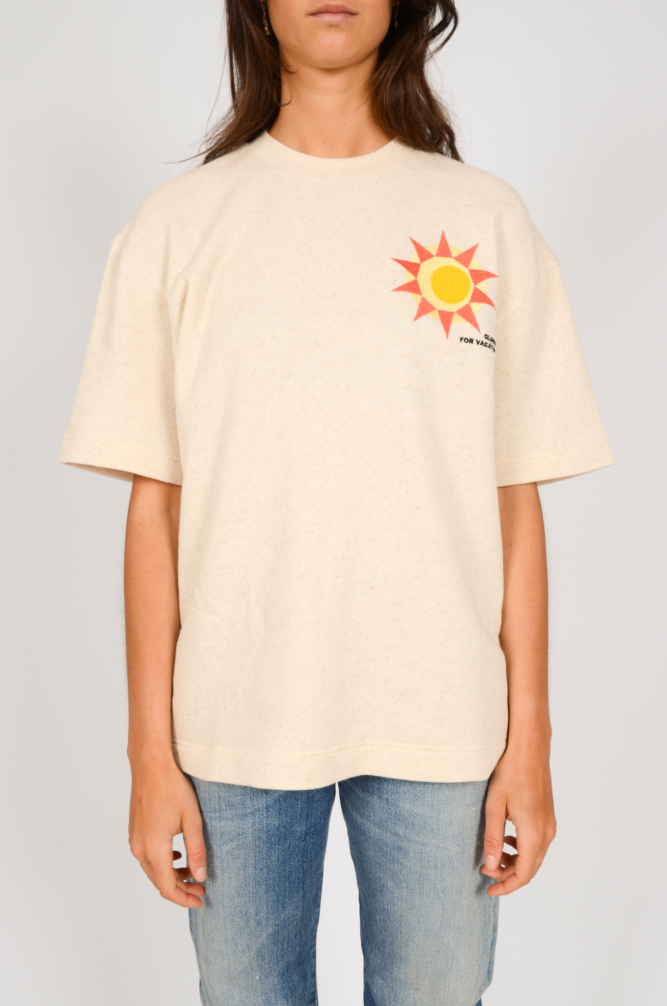 EMBROIDERED TEE-1