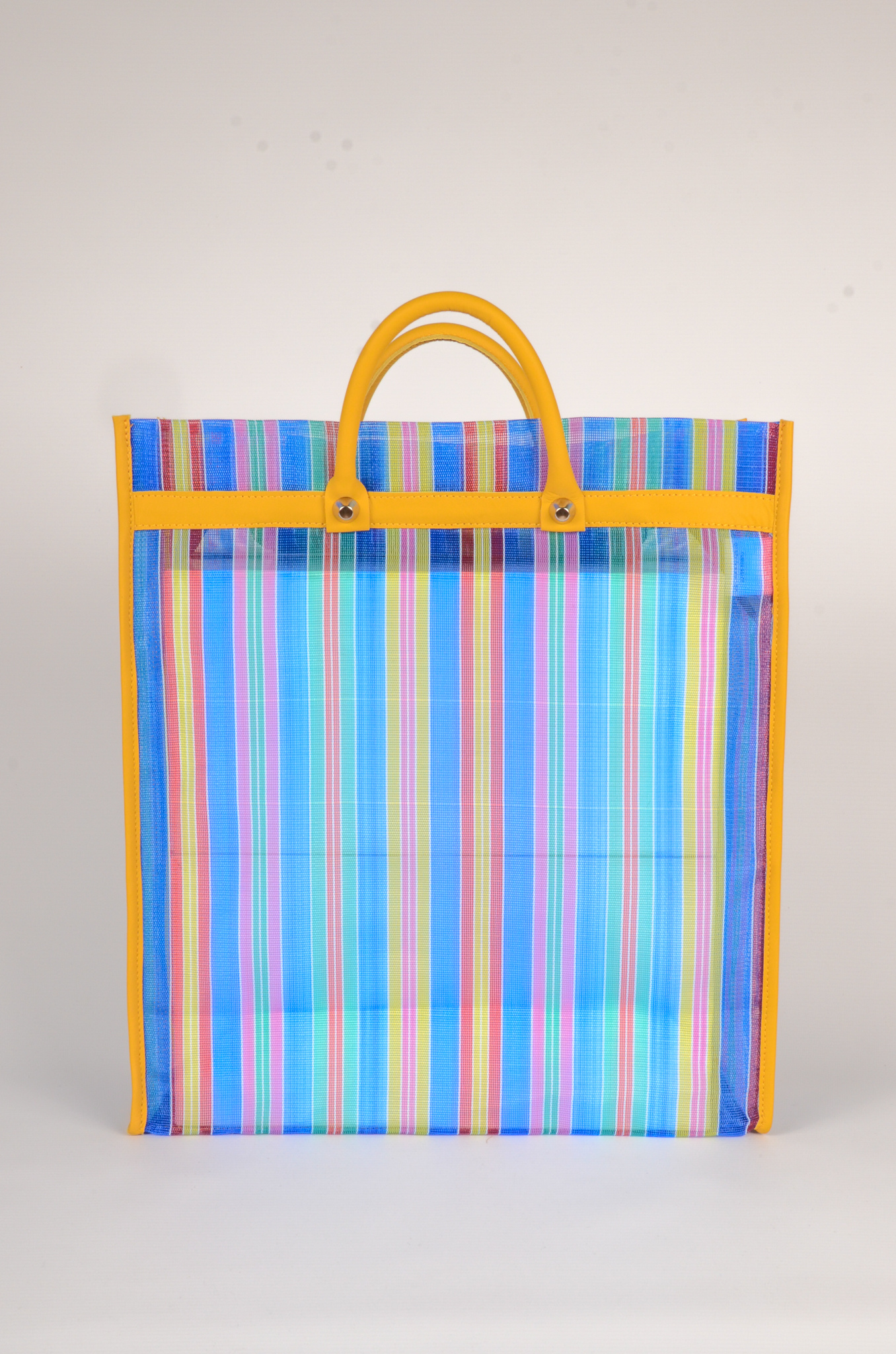 MEXICAN MARKET BAG IN BLUE-1