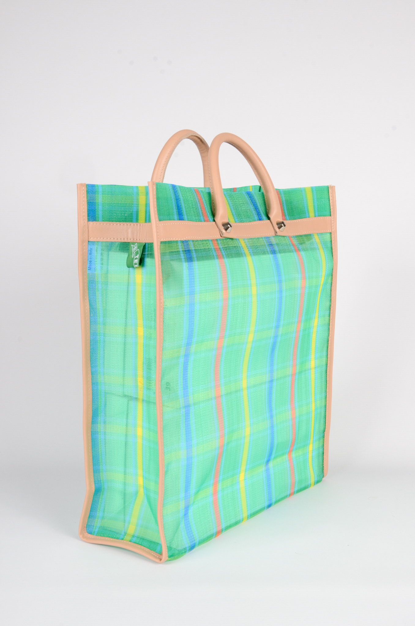 MEXICAN MARKET BAG IN GREEN-2