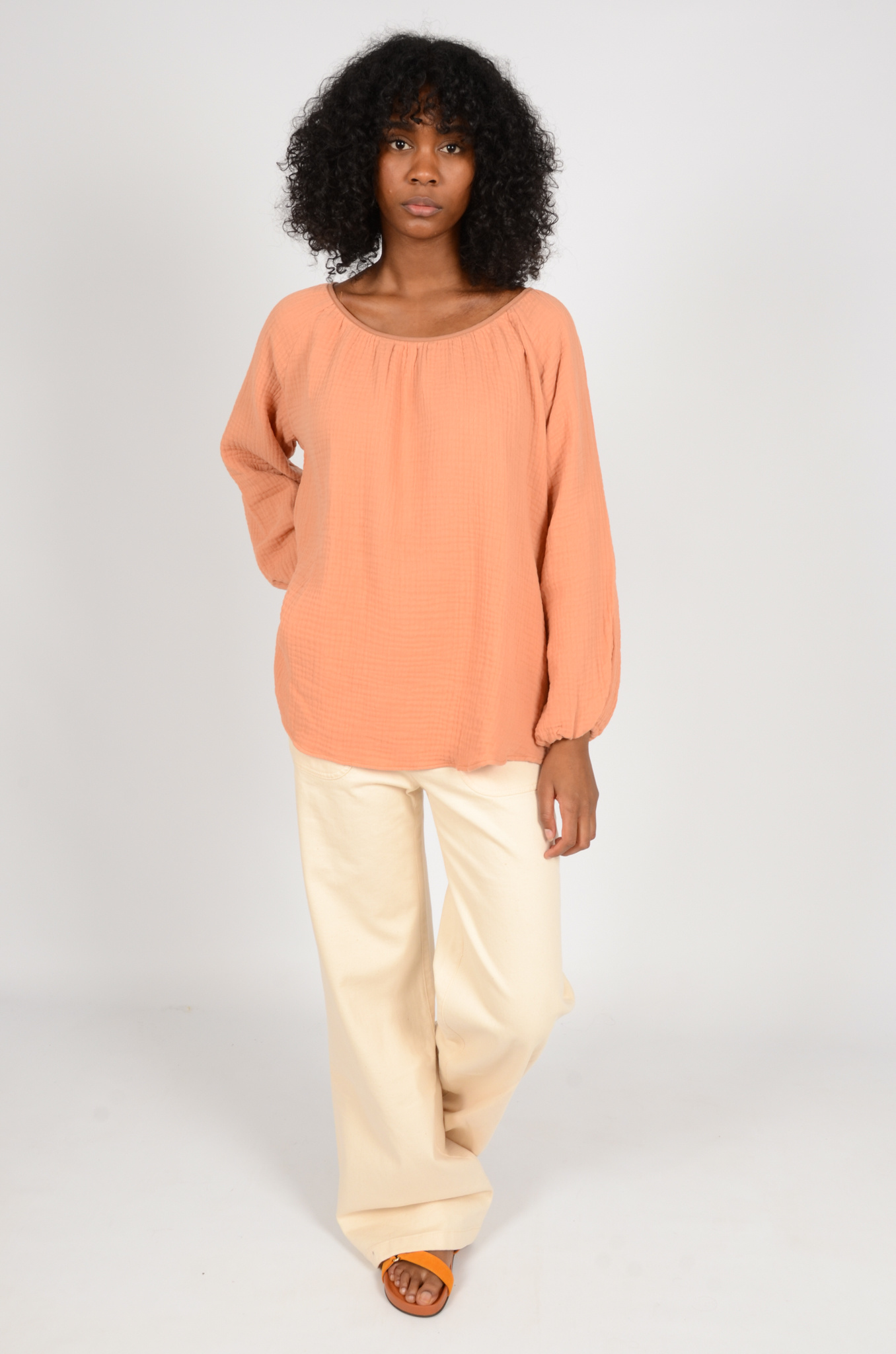 MORNING BLOUSE IN PEACH-7