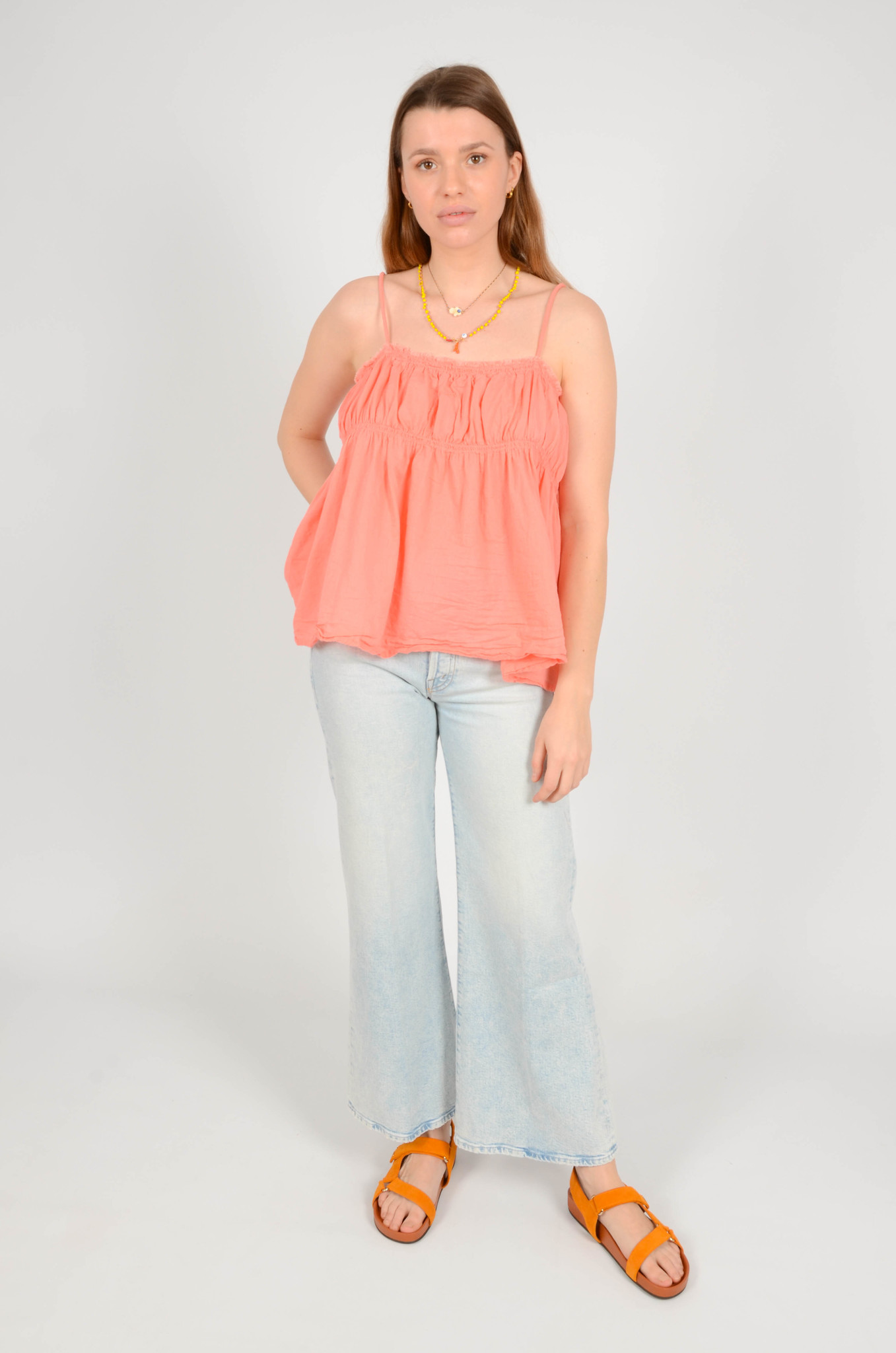 HAILEY TANKTOP IN CORAL-5