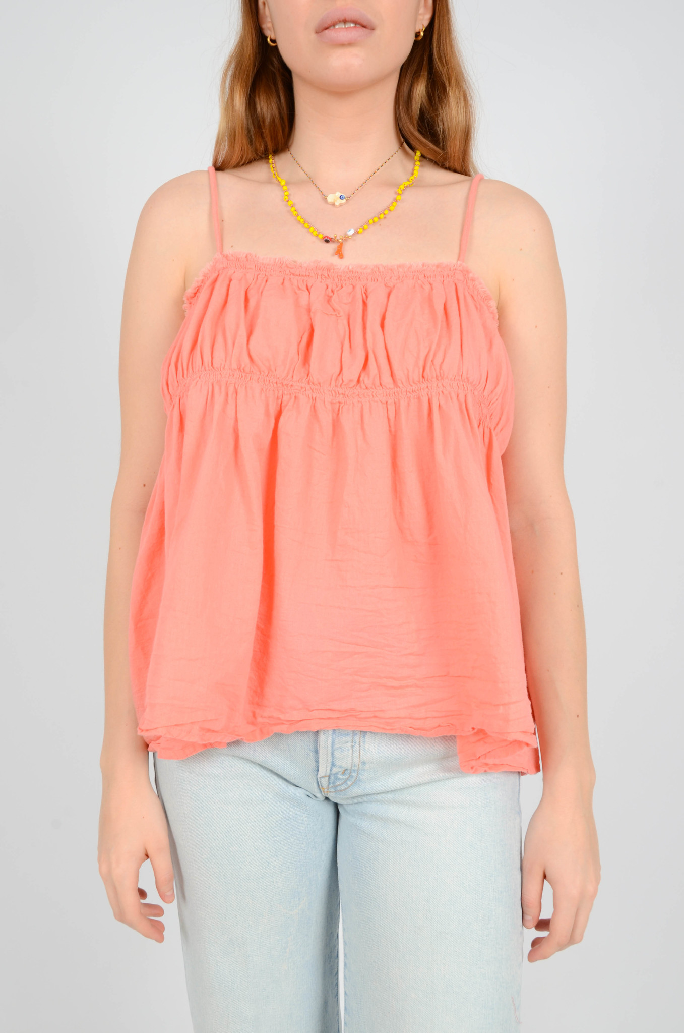 HAILEY TANKTOP IN CORAL-1
