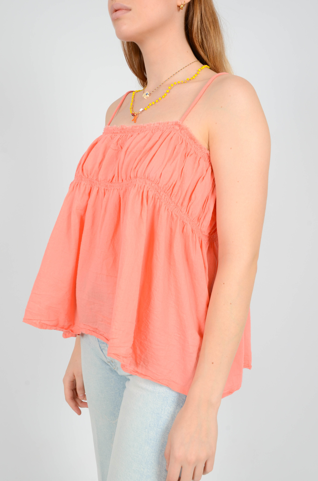HAILEY TANKTOP IN CORAL-3