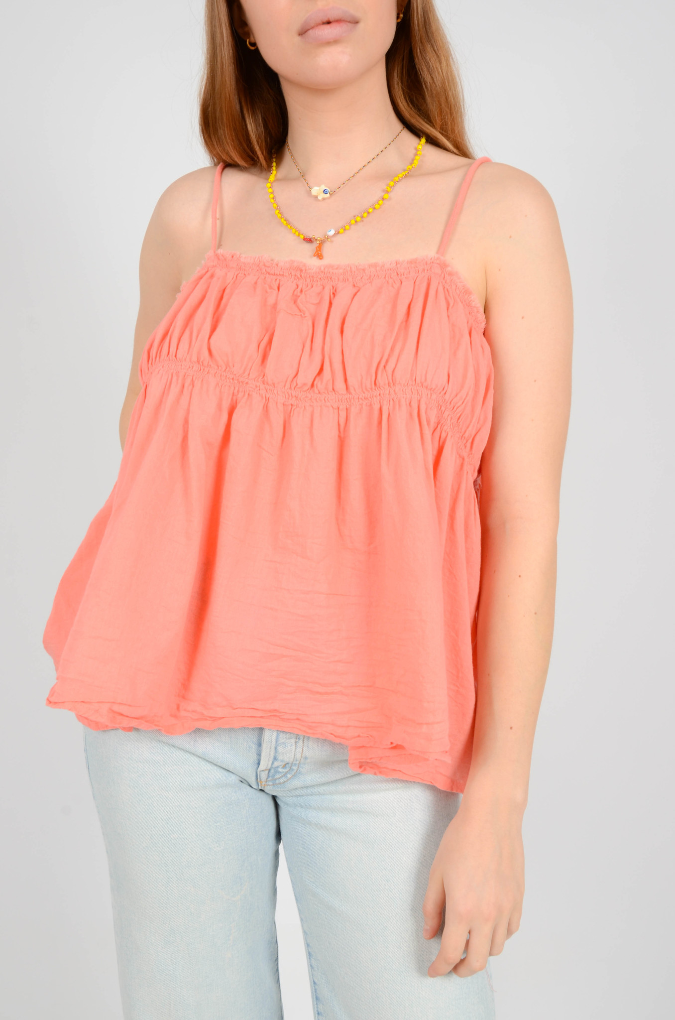 HAILEY TANKTOP IN CORAL-2