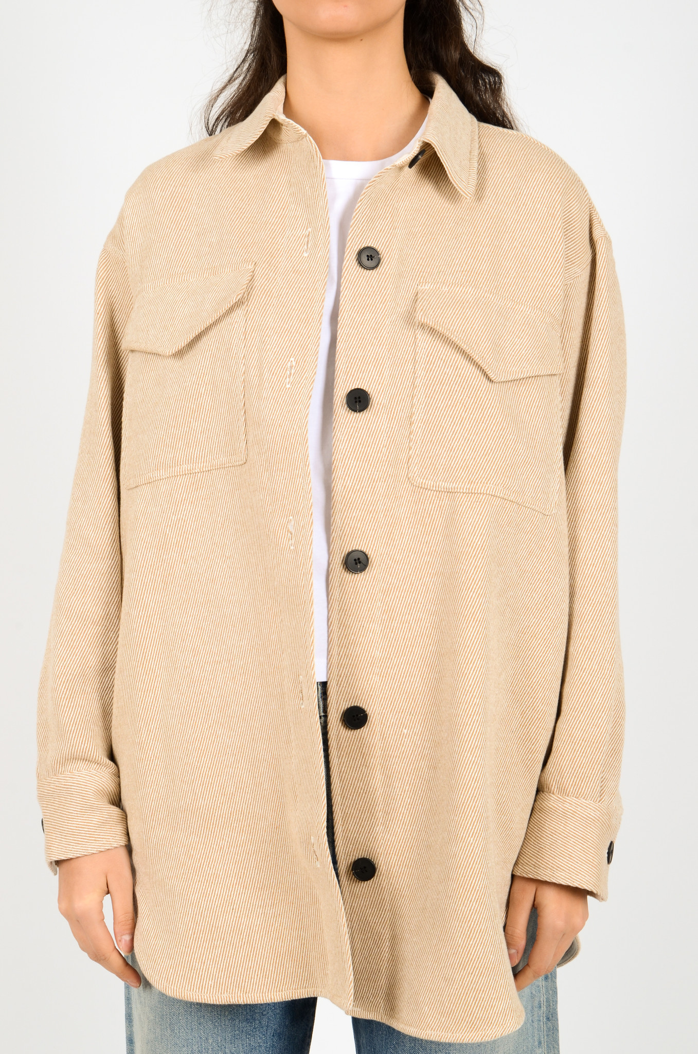 PALERMO SHIRT COAT IN CAMEL-1