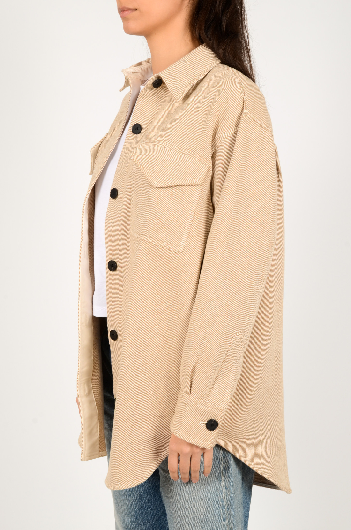 PALERMO SHIRT COAT IN CAMEL-3