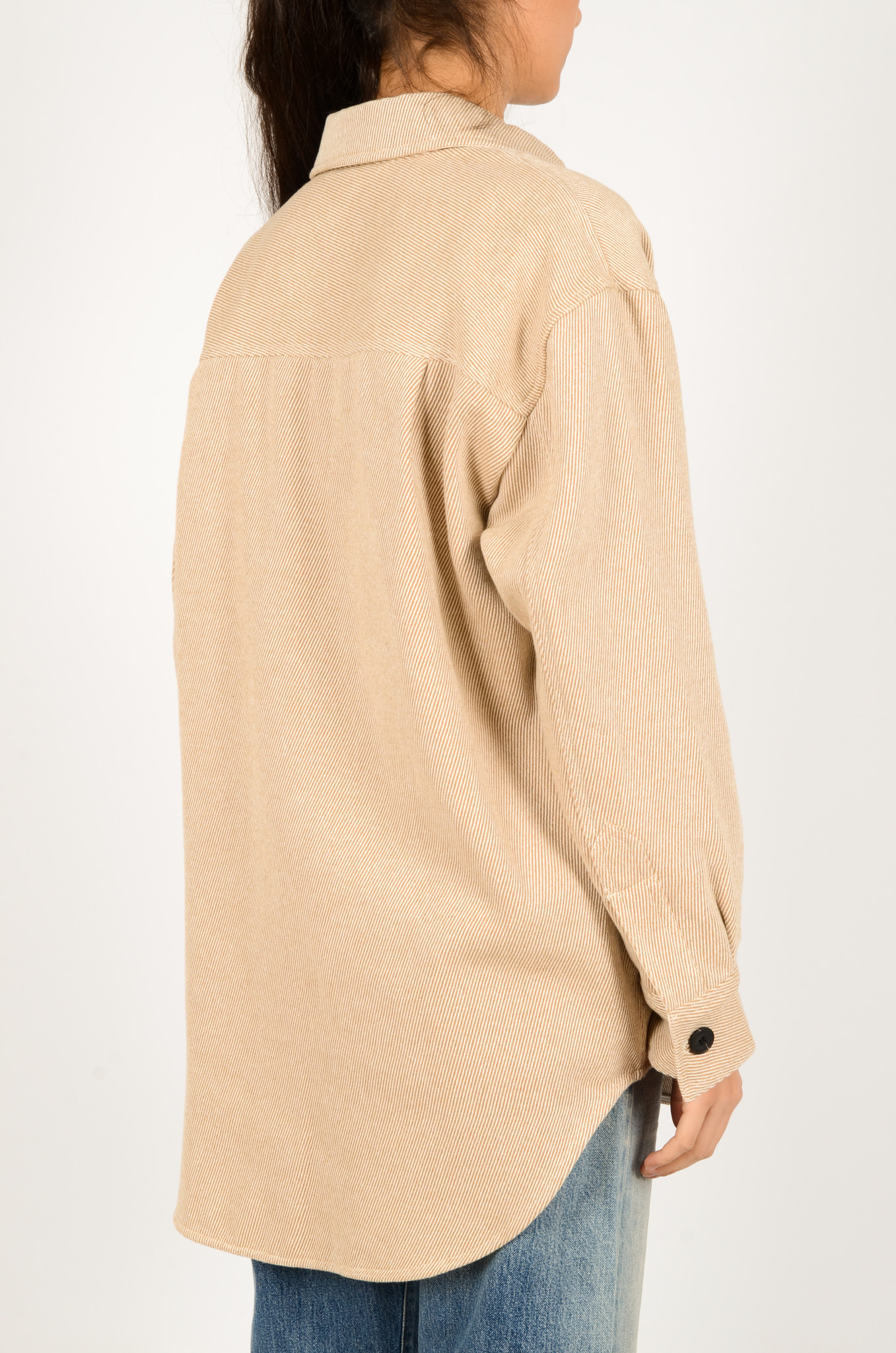 PALERMO SHIRT COAT IN CAMEL-4