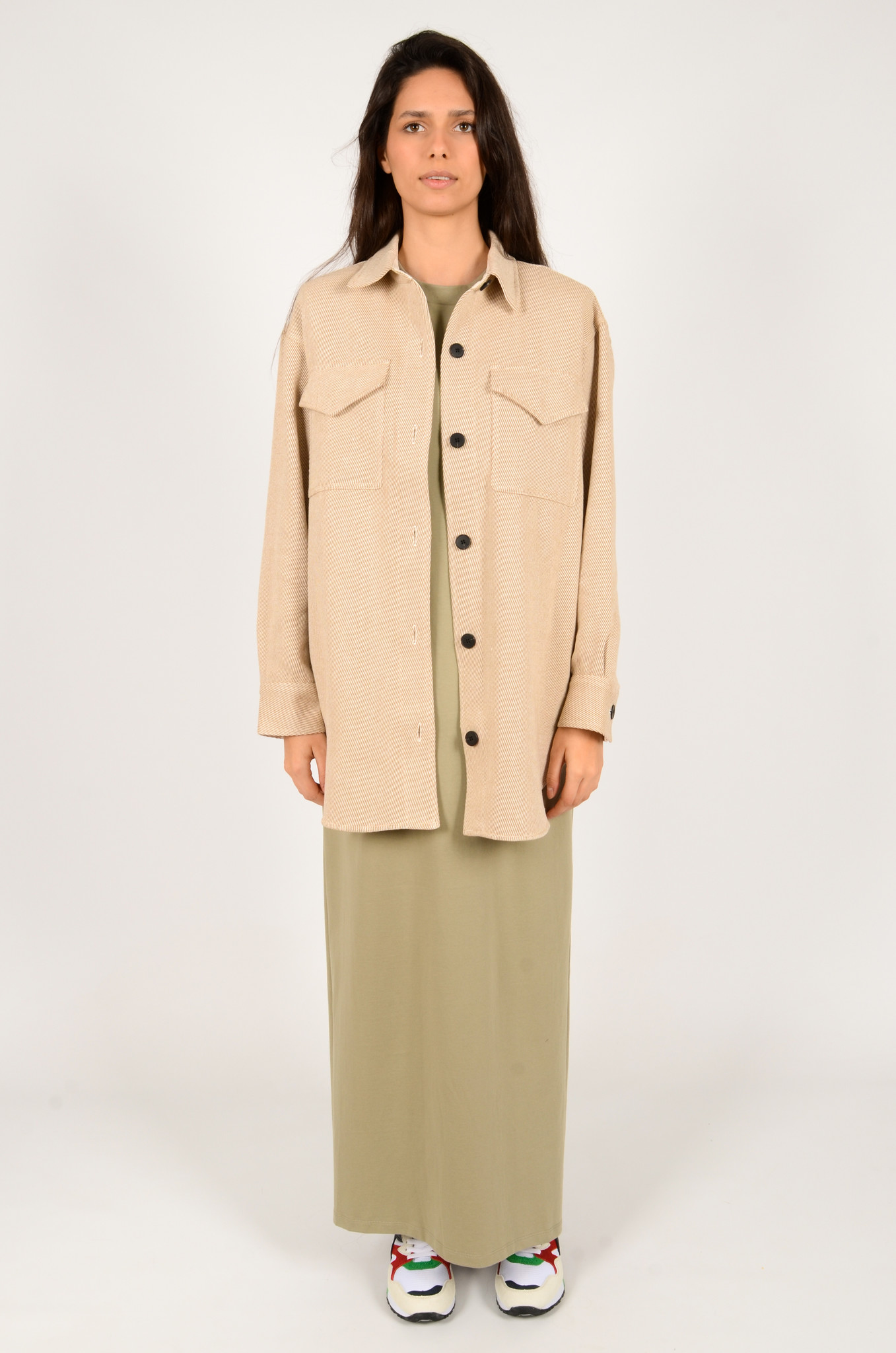 PALERMO SHIRT COAT IN CAMEL-6