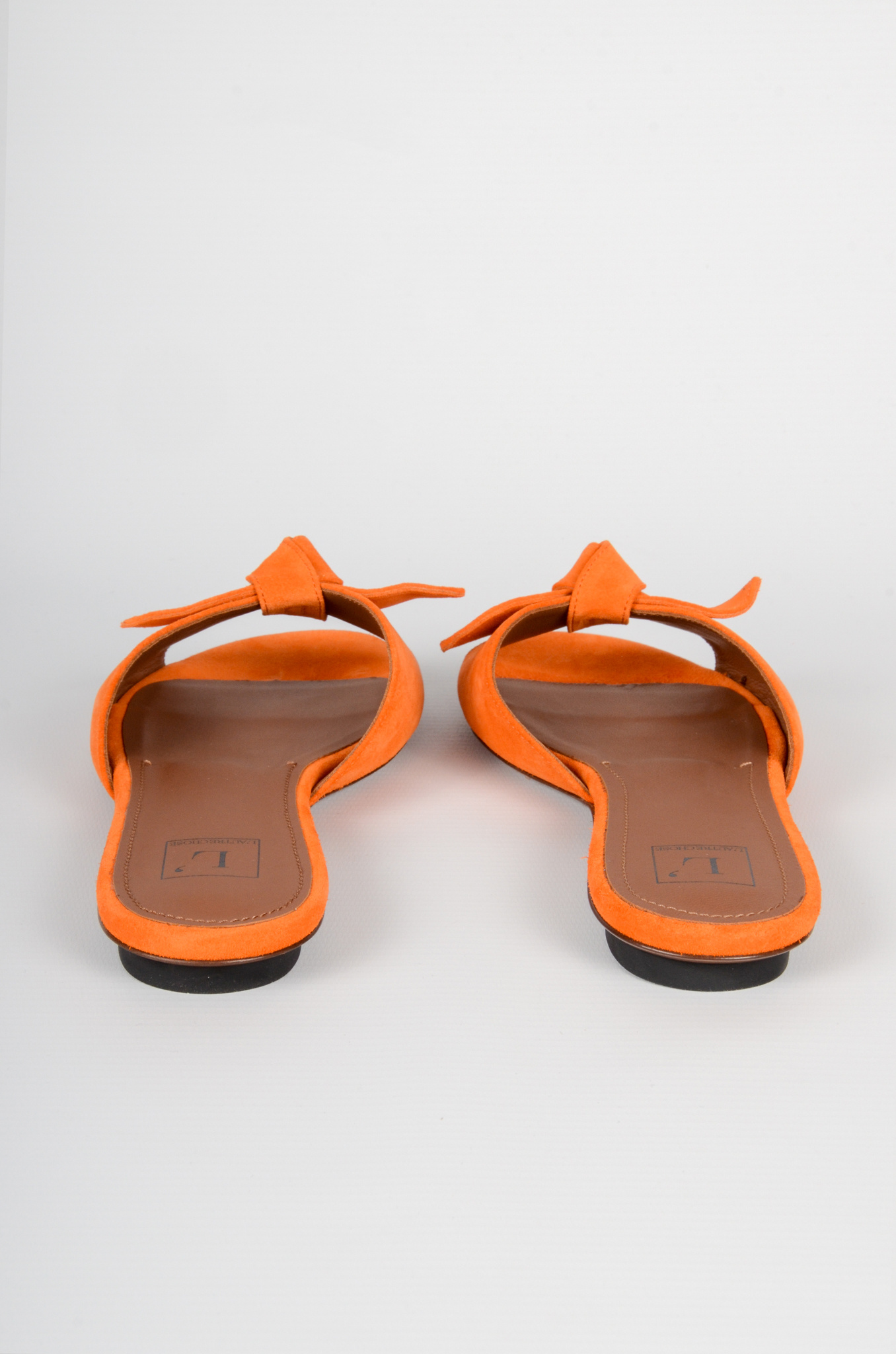 SUEDE BOW SLIPPERS-2