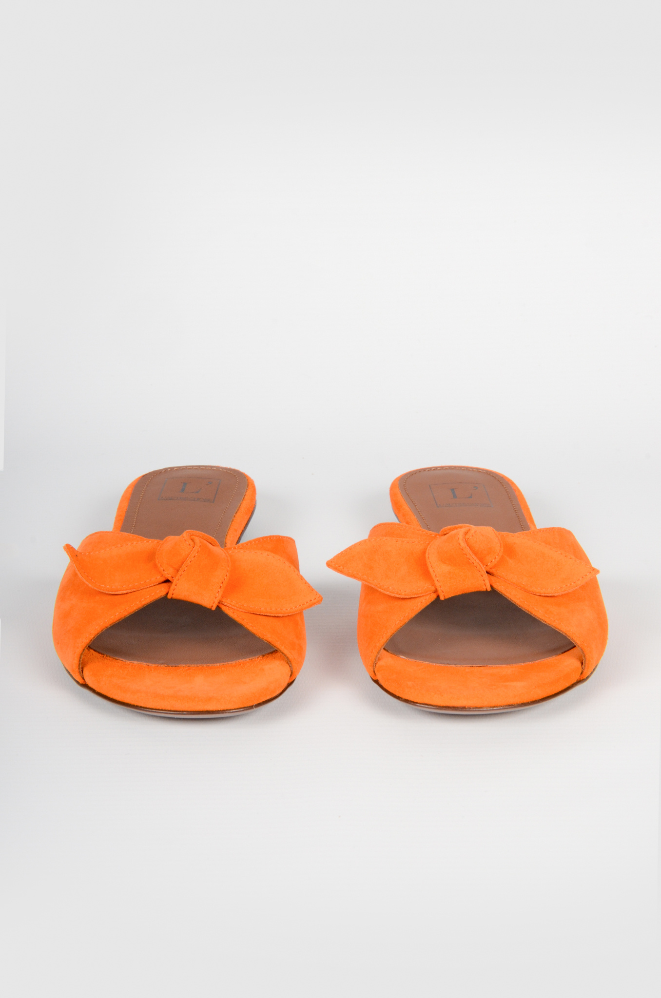 SUEDE BOW SLIPPERS-3