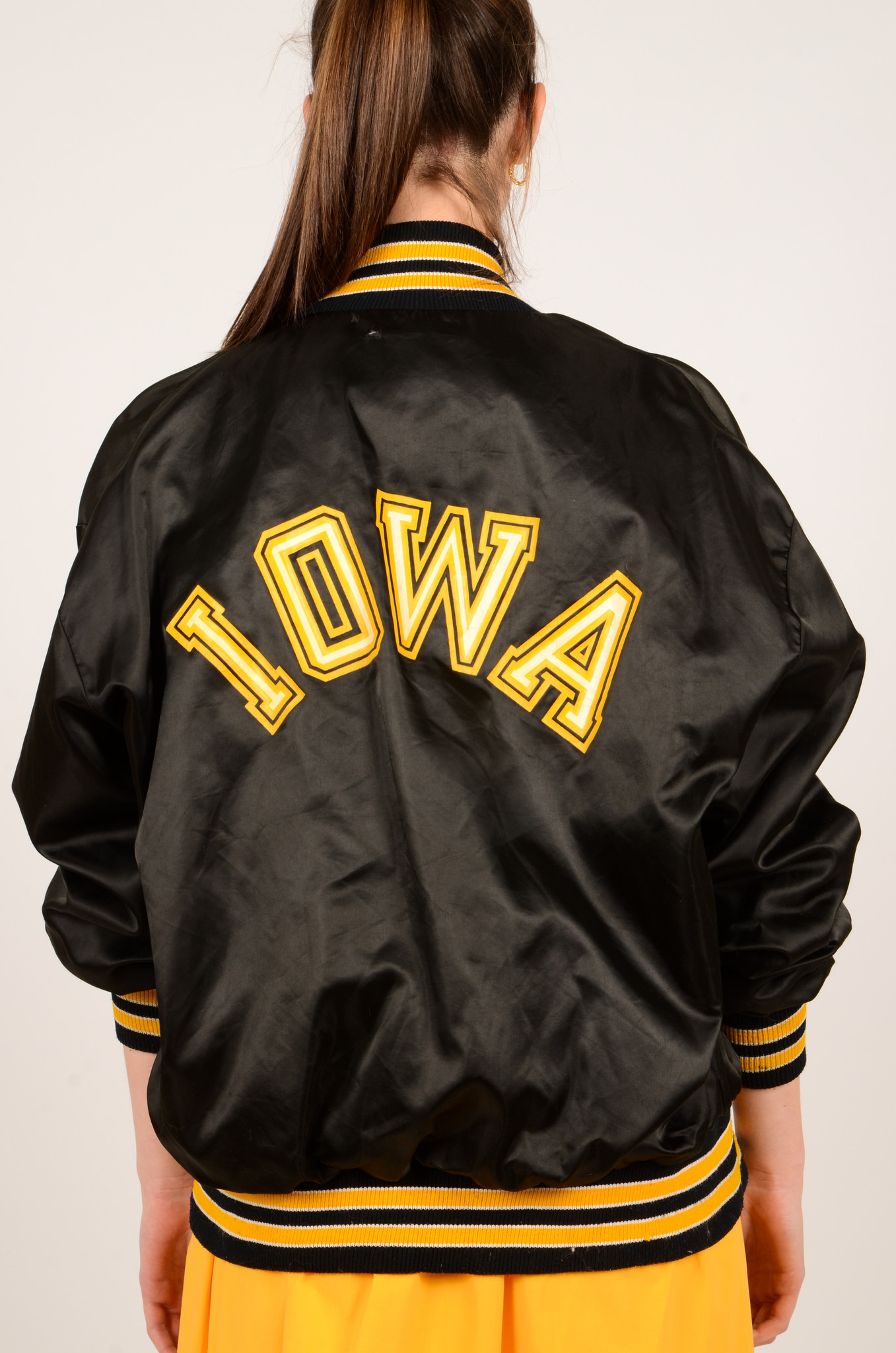 IOWA BLACK NYLON JACKET-5