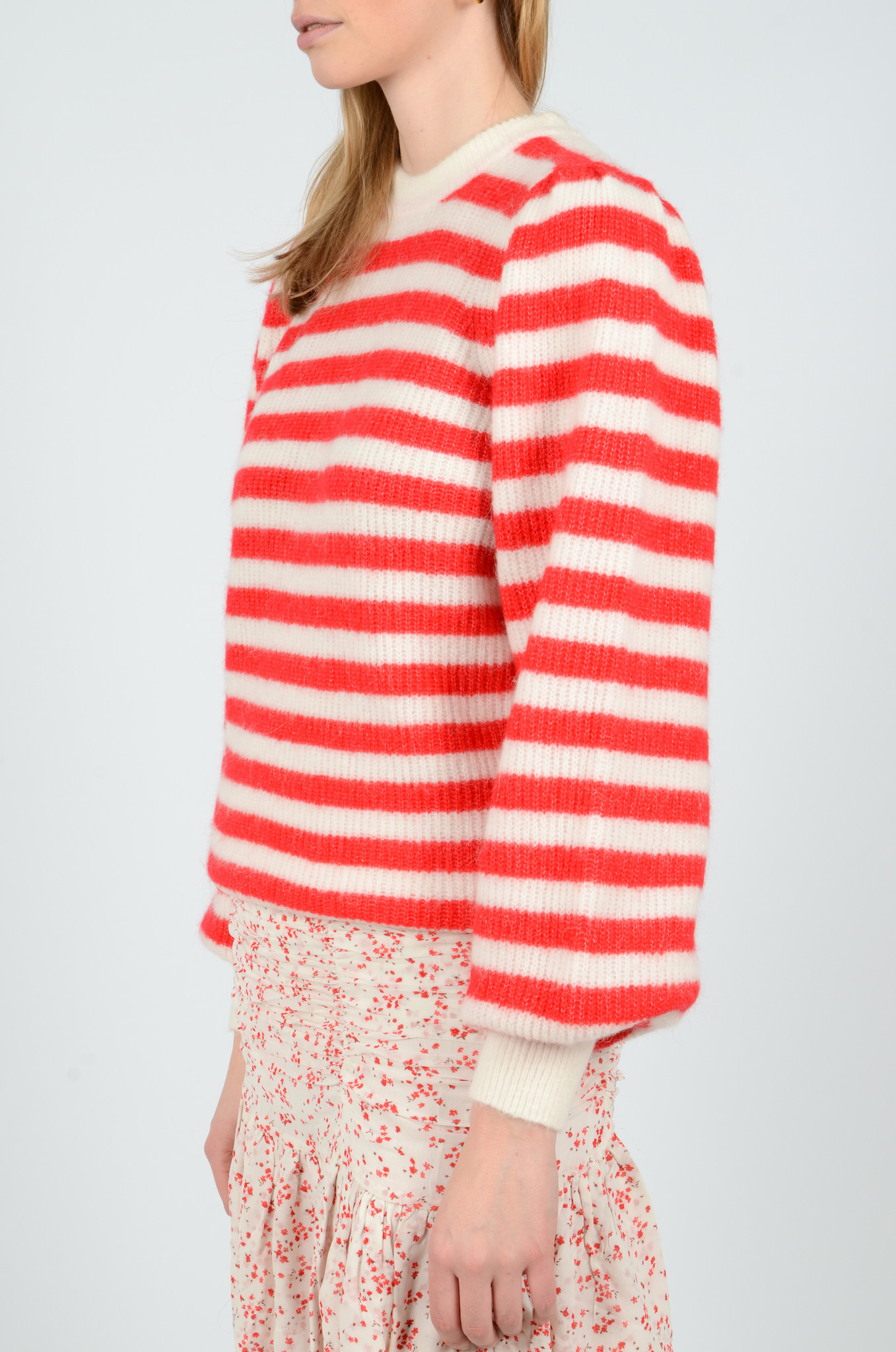 STRIPED KNITTED TOP-3