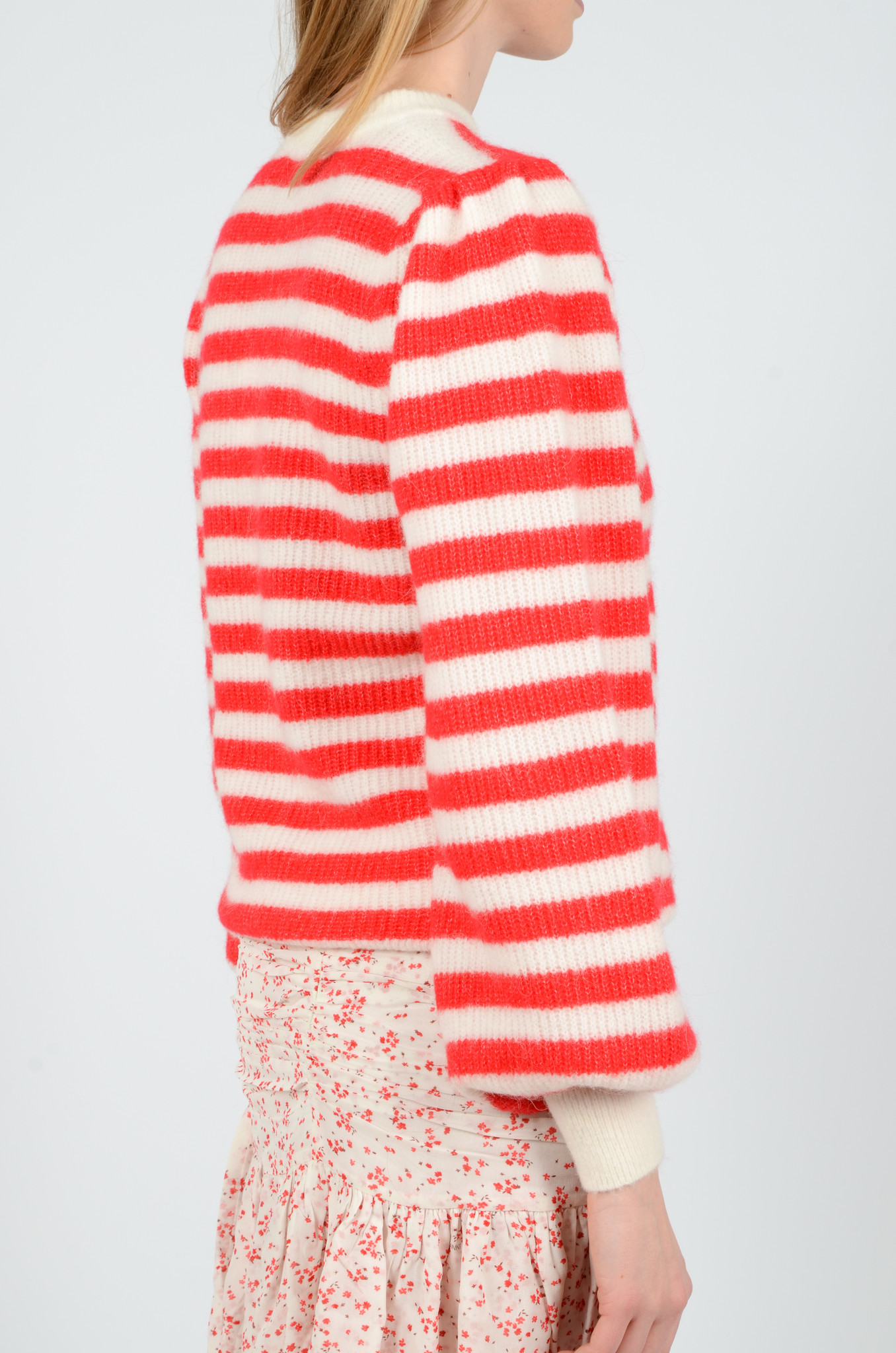 STRIPED KNITTED TOP-4