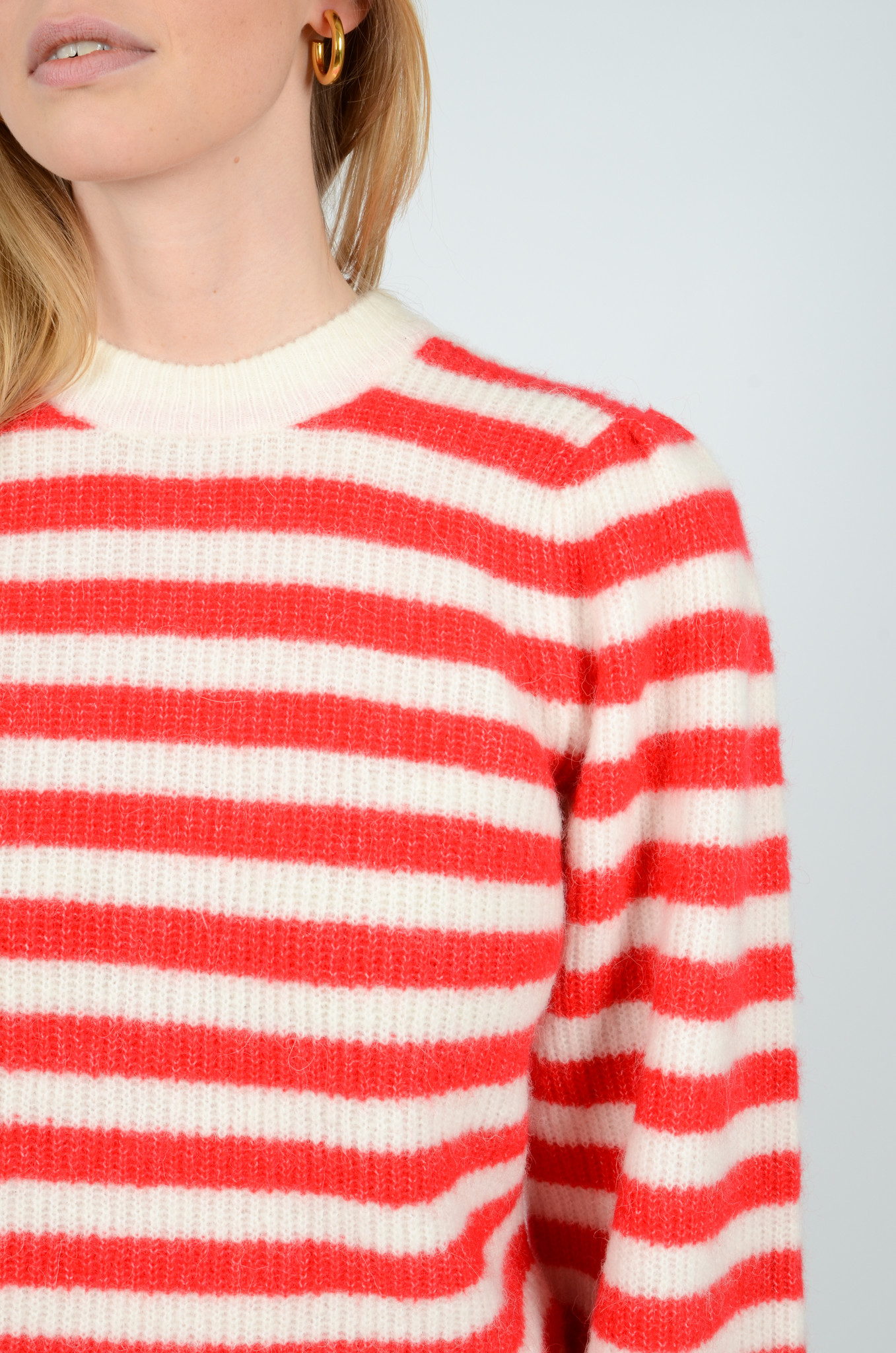 STRIPED KNITTED TOP-5
