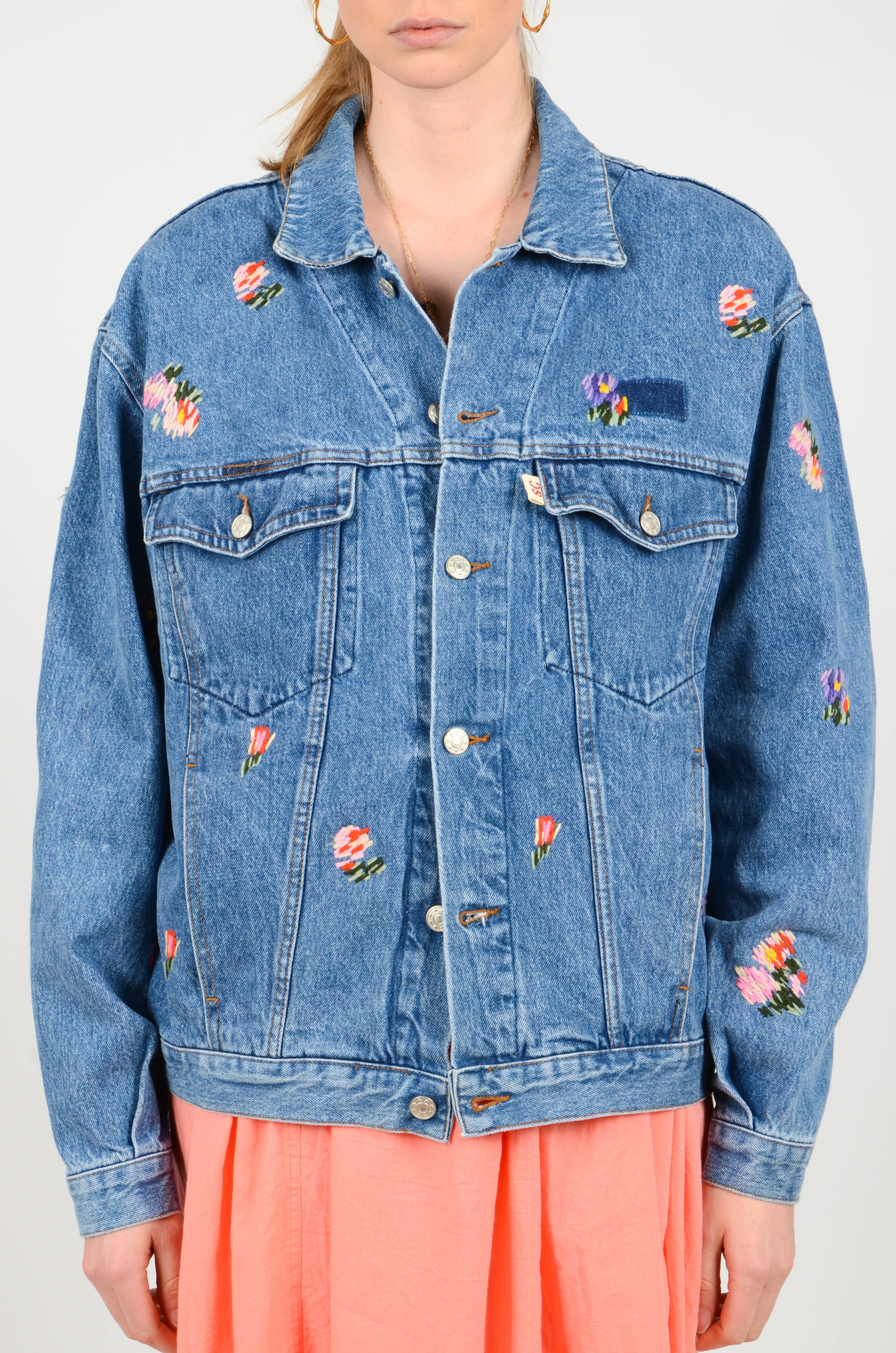 EMBROIDERED DENIM JACKET-3
