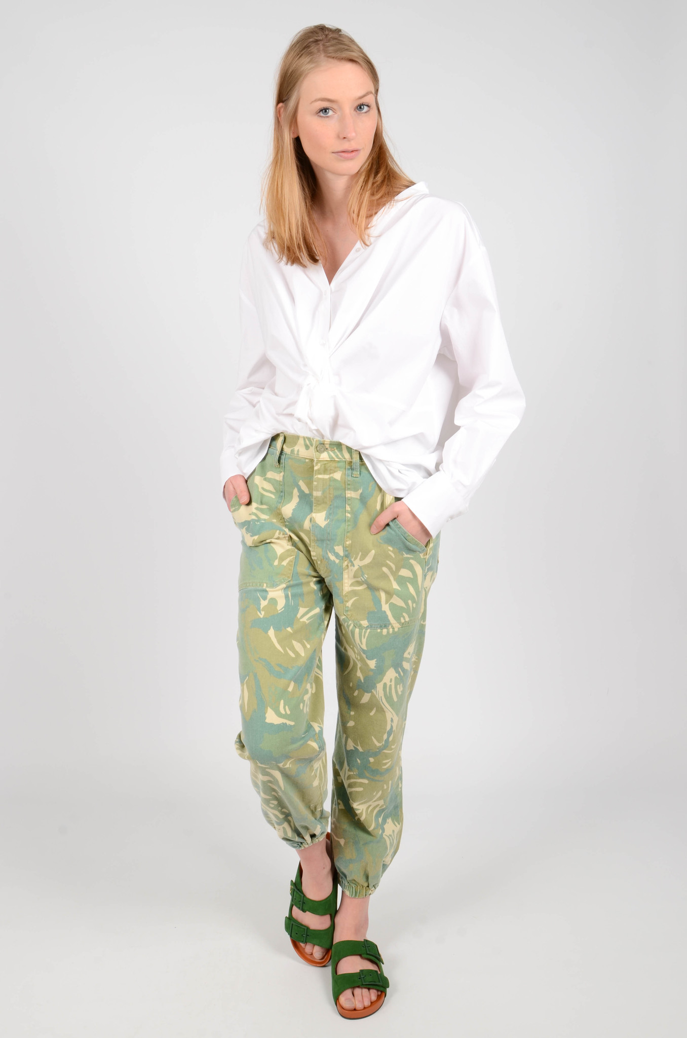 THE WRAPPER PATCH TROUSERS-6