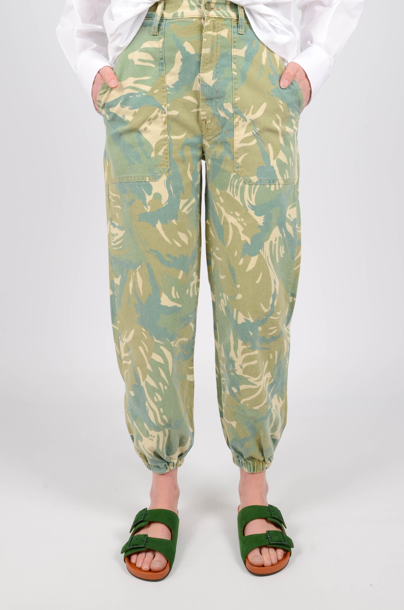 THE WRAPPER PATCH TROUSERS-1
