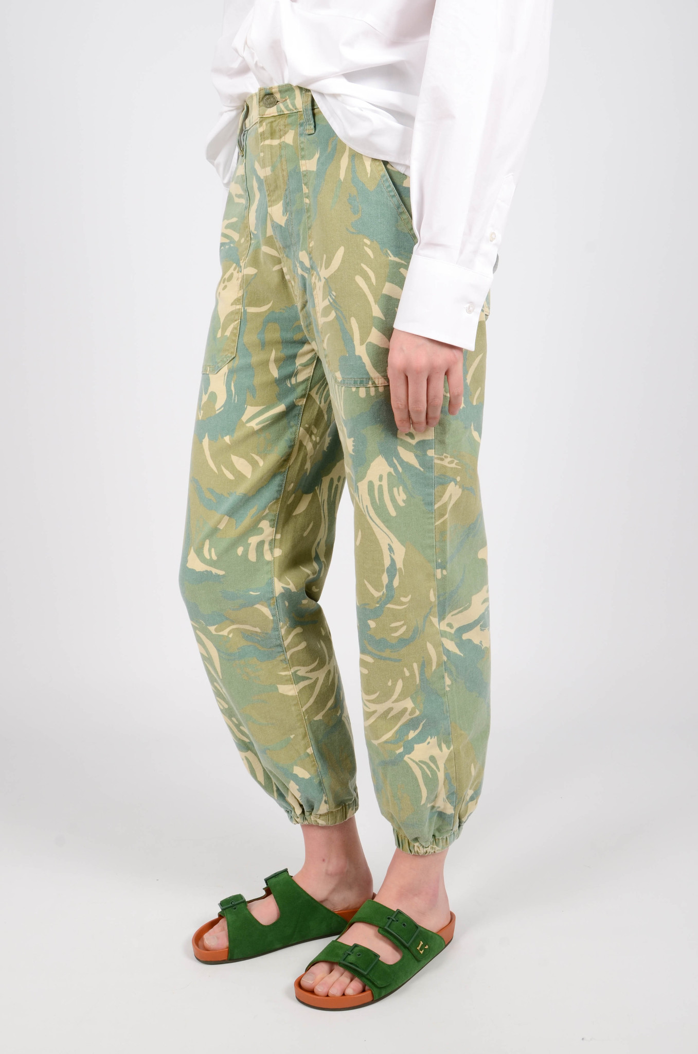 THE WRAPPER PATCH TROUSERS-3