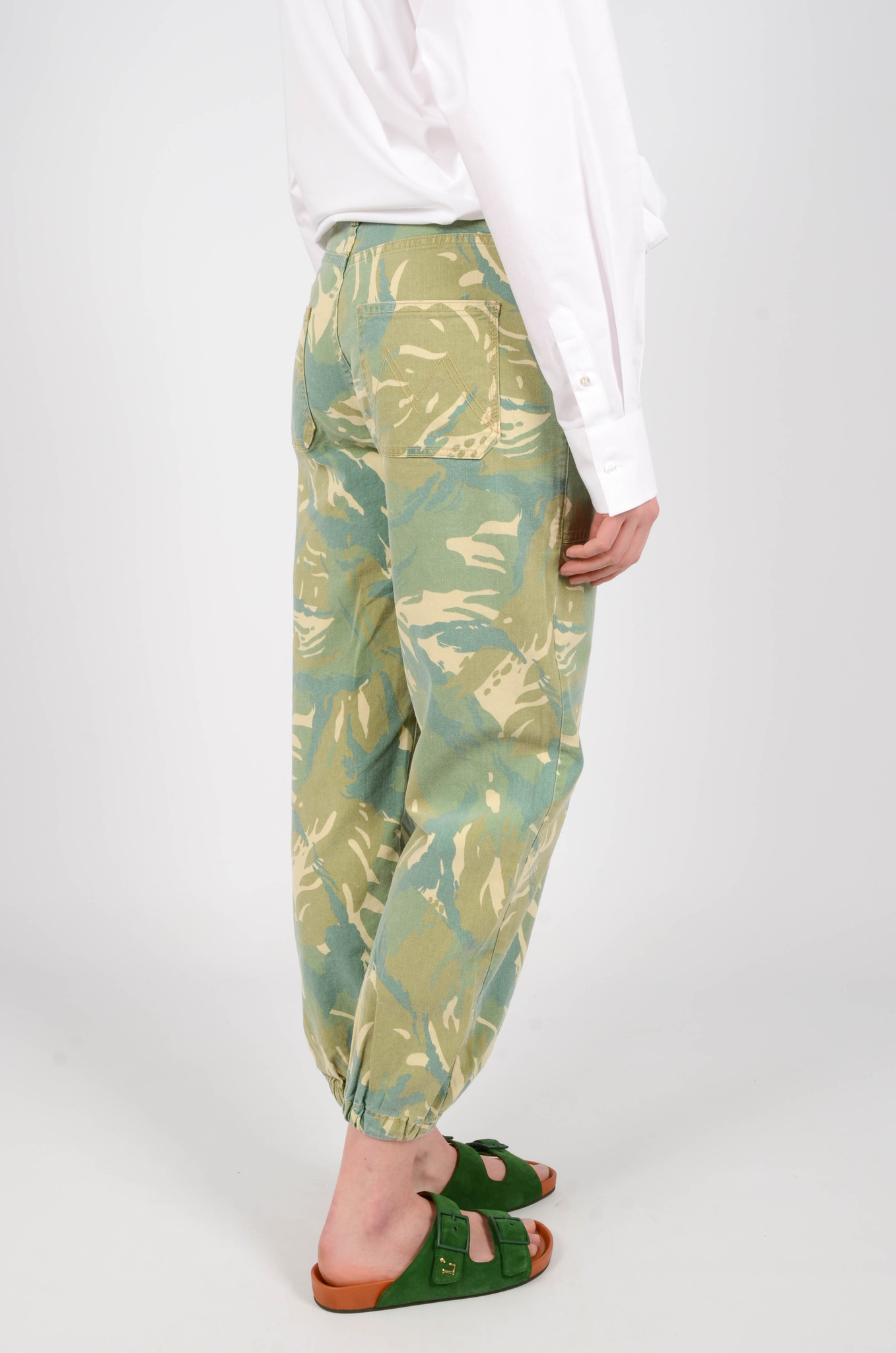 THE WRAPPER PATCH TROUSERS-4