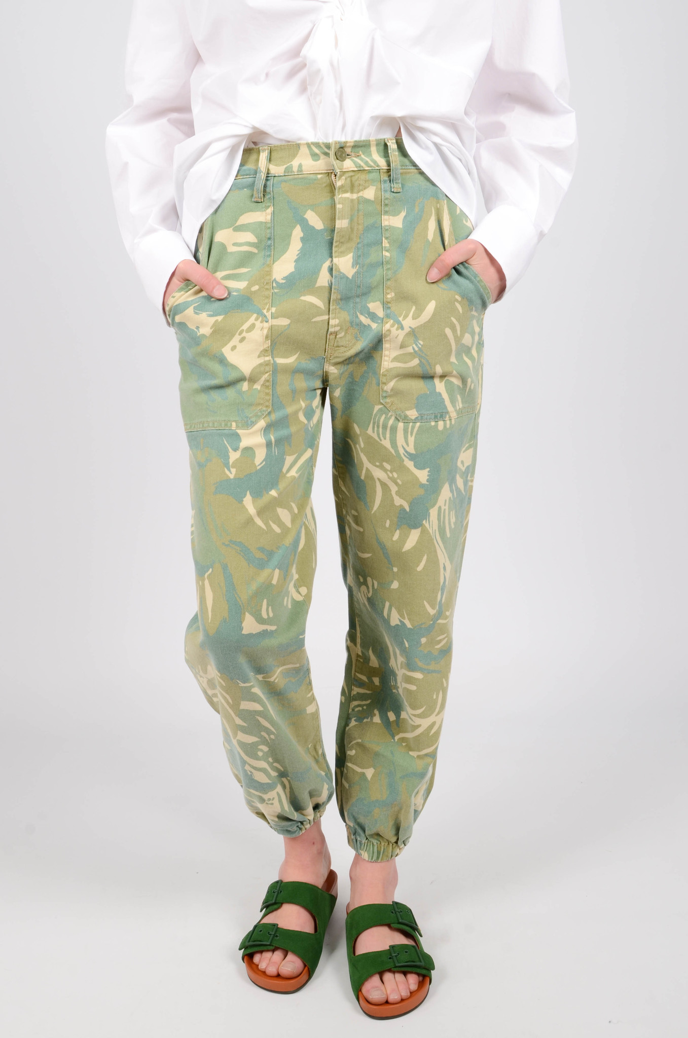 THE WRAPPER PATCH TROUSERS-2