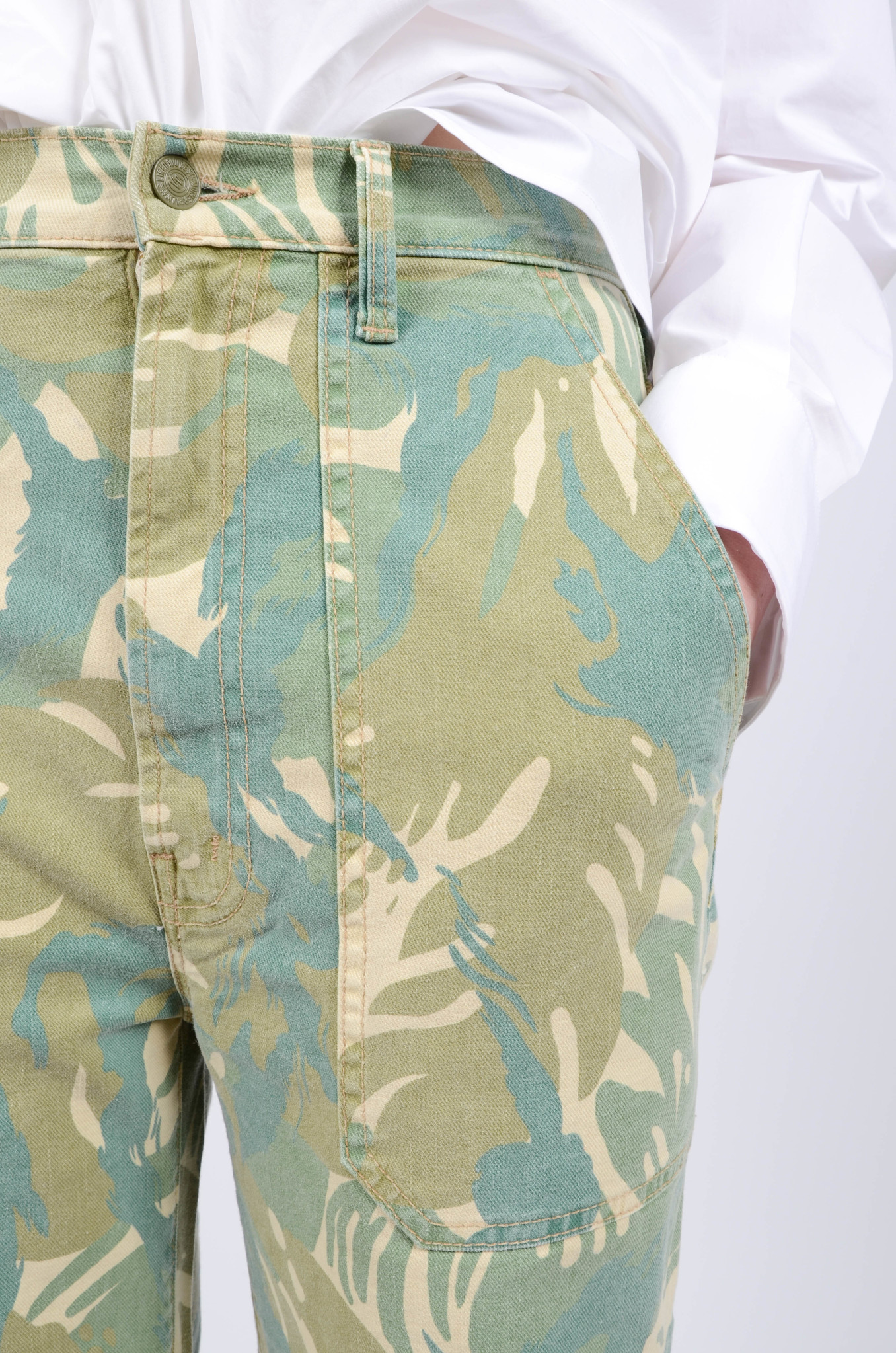 THE WRAPPER PATCH TROUSERS-5