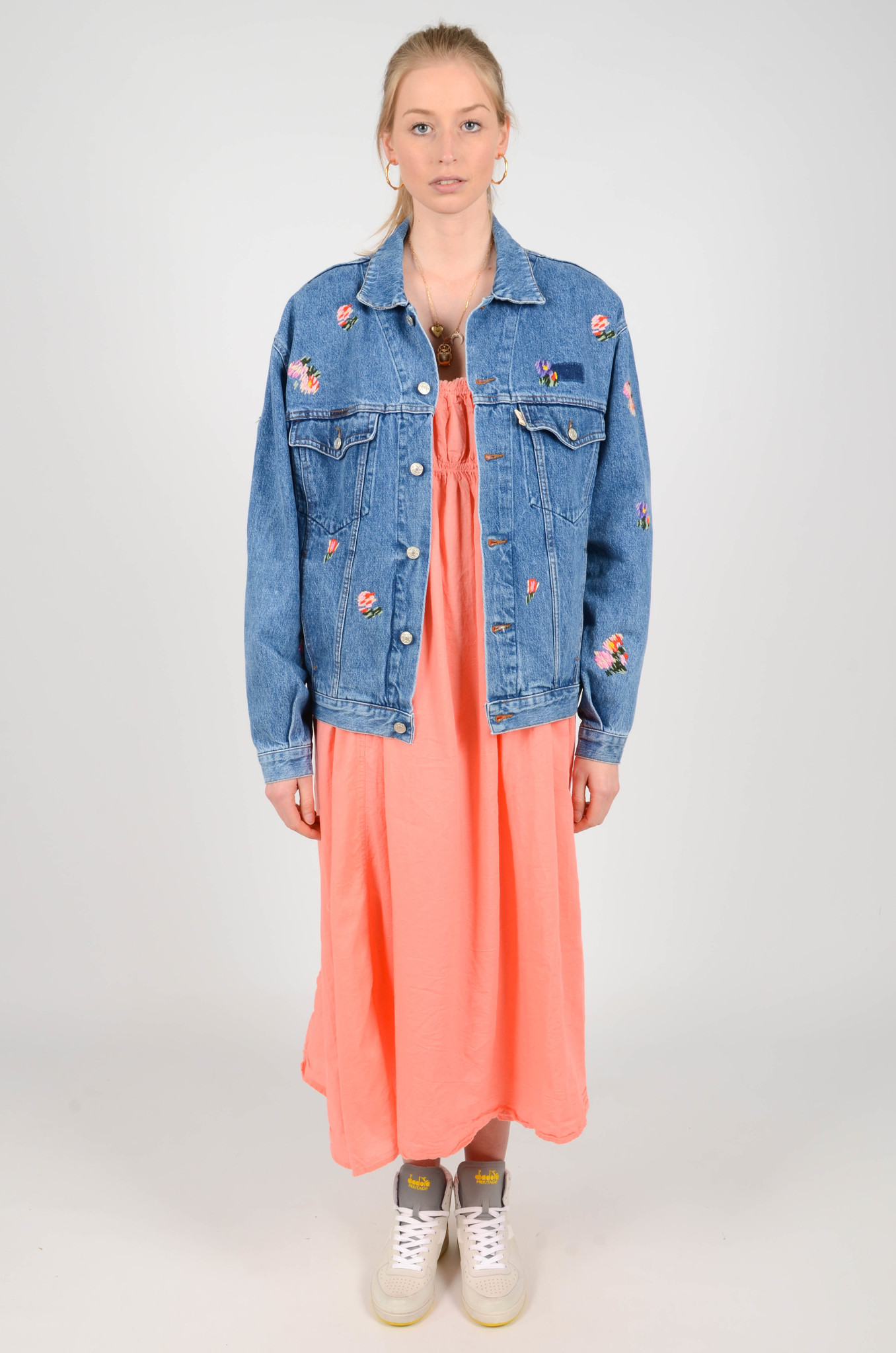 EMBROIDERED DENIM JACKET-2