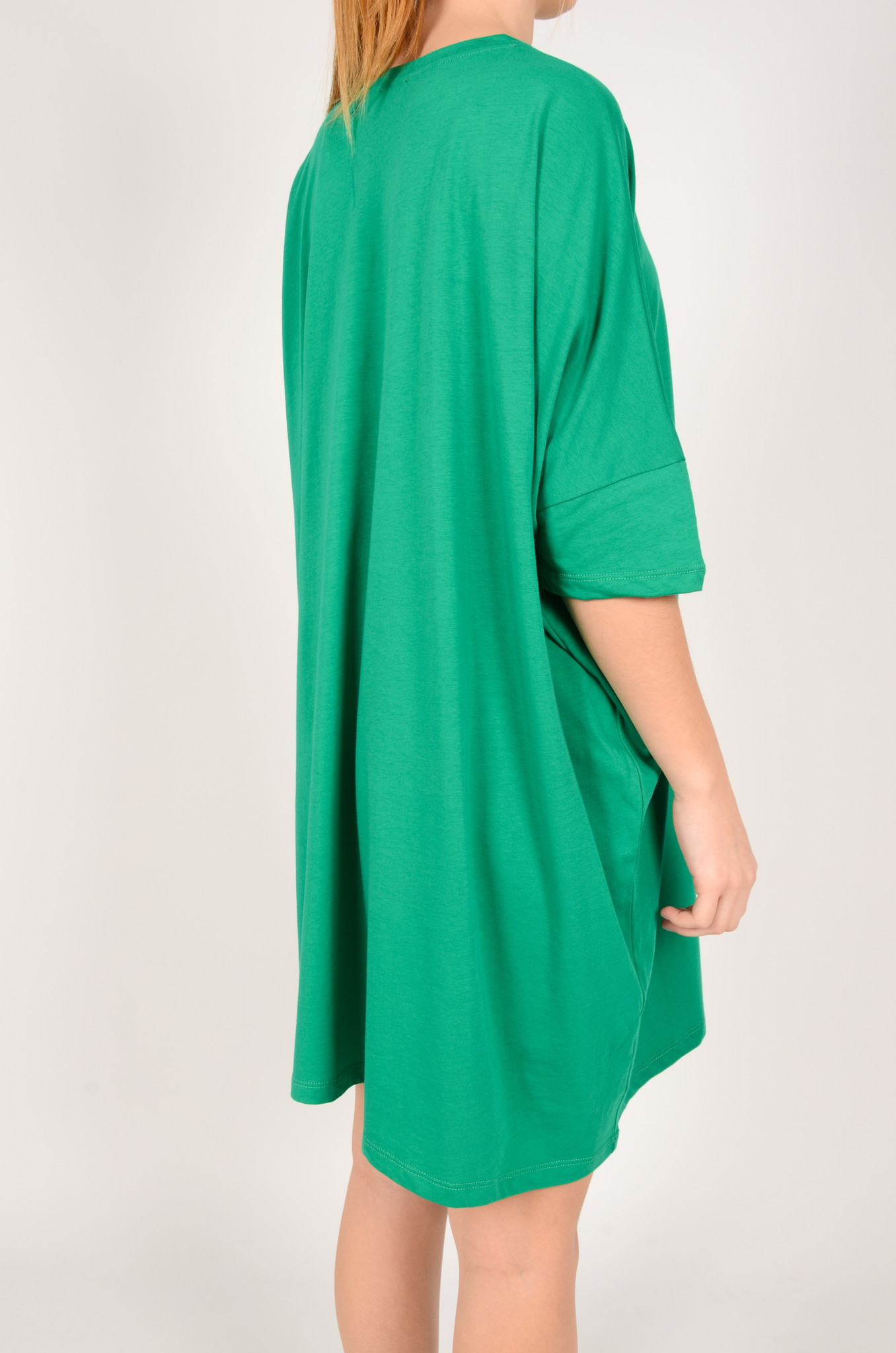 T-DRESS IN GREEN-4