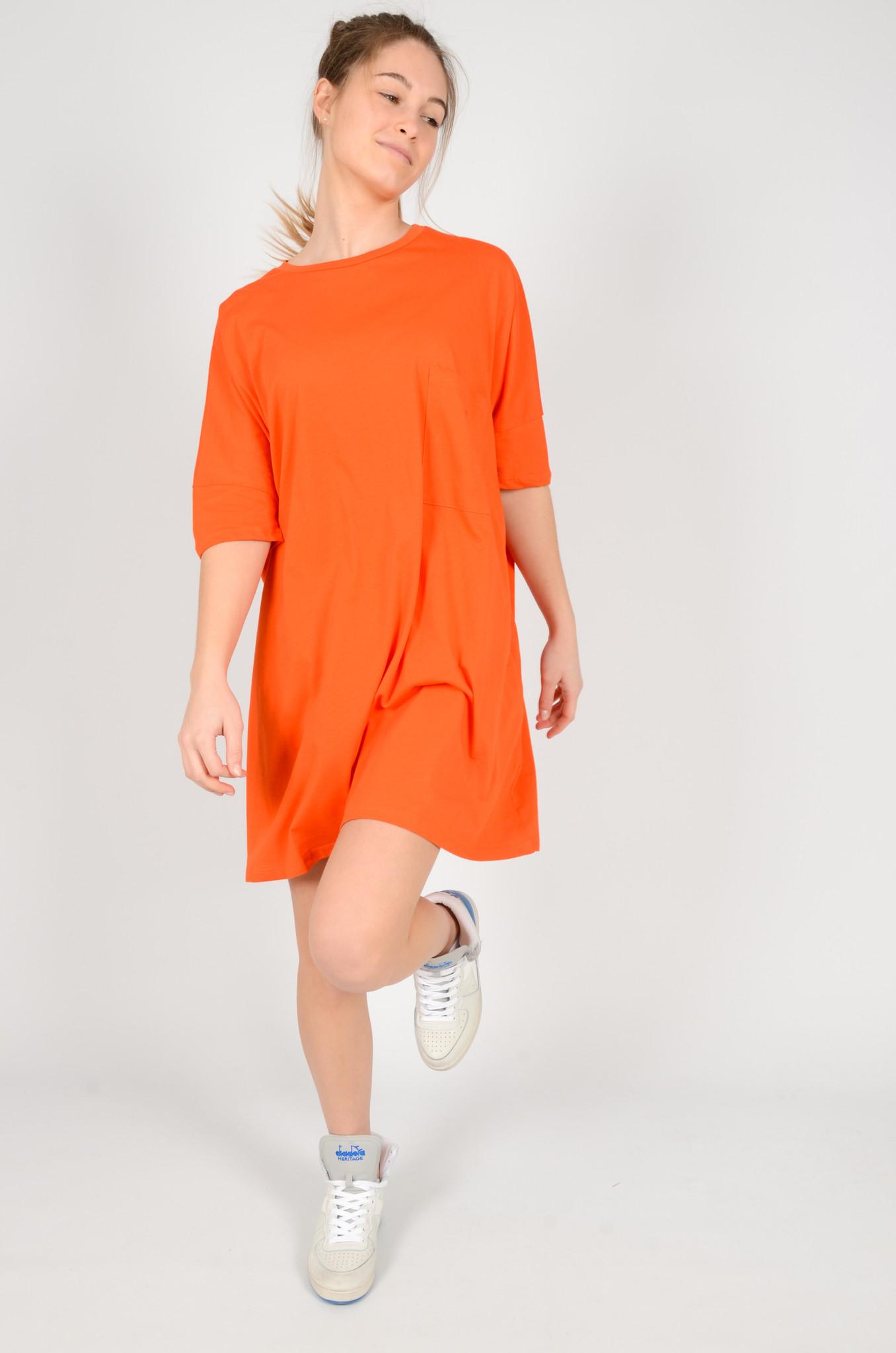 T-DRESS ORANGE-5