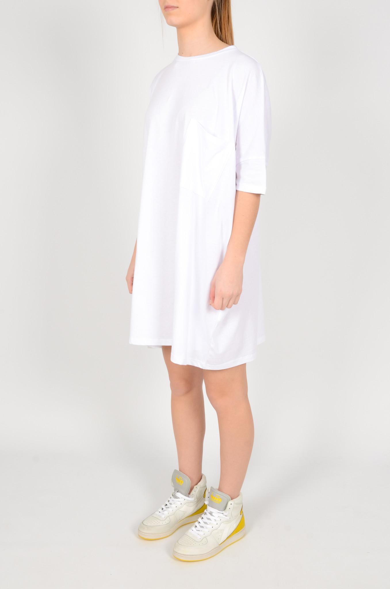 T-DRESS  WHITE-2