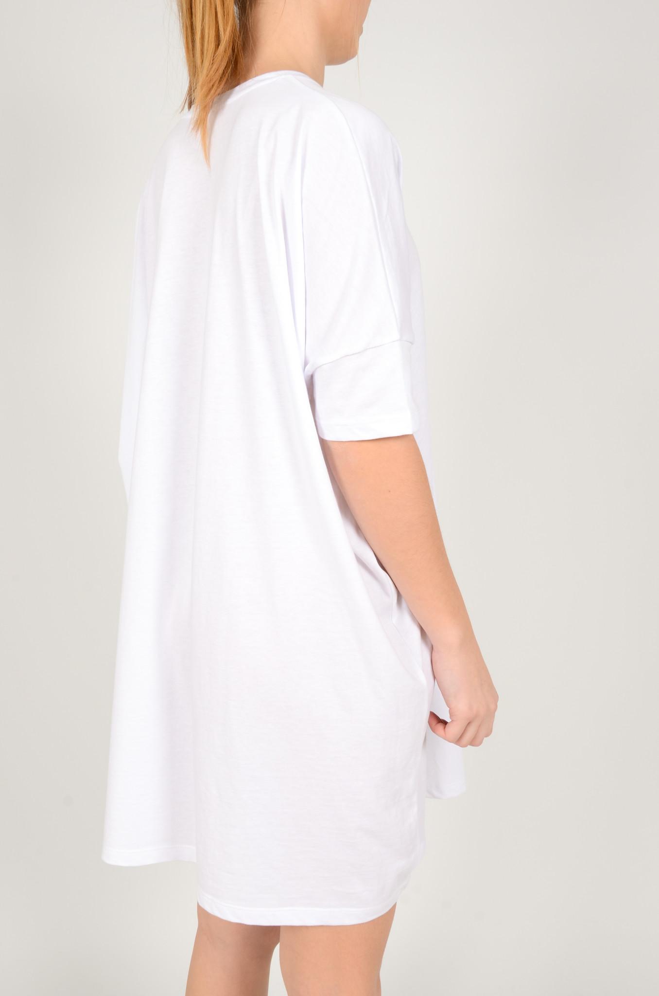 T-DRESS  WHITE-4