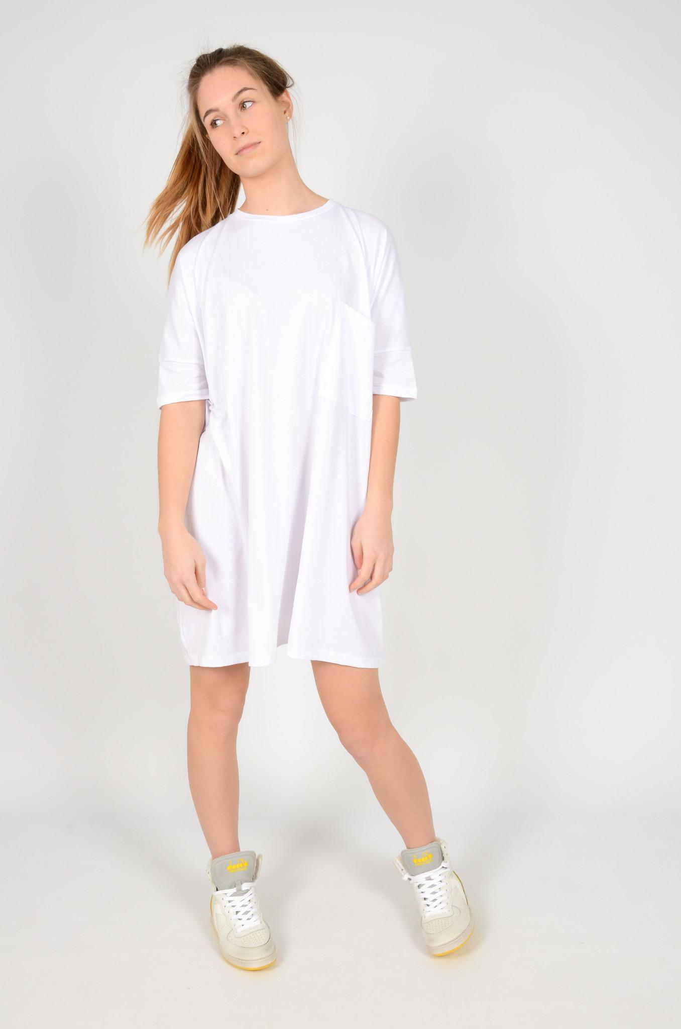 T-DRESS  WHITE-1