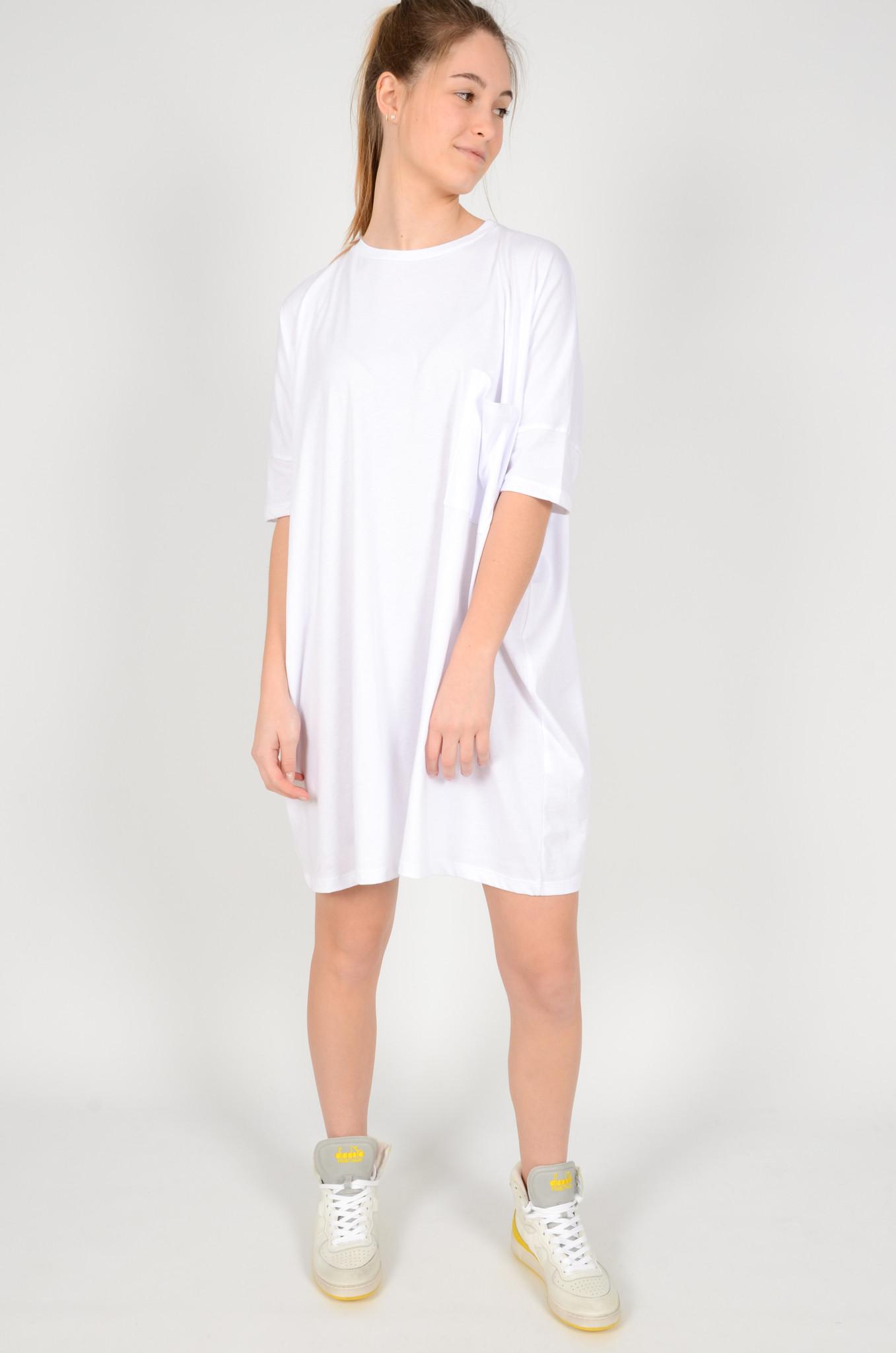 T-DRESS  WHITE-6
