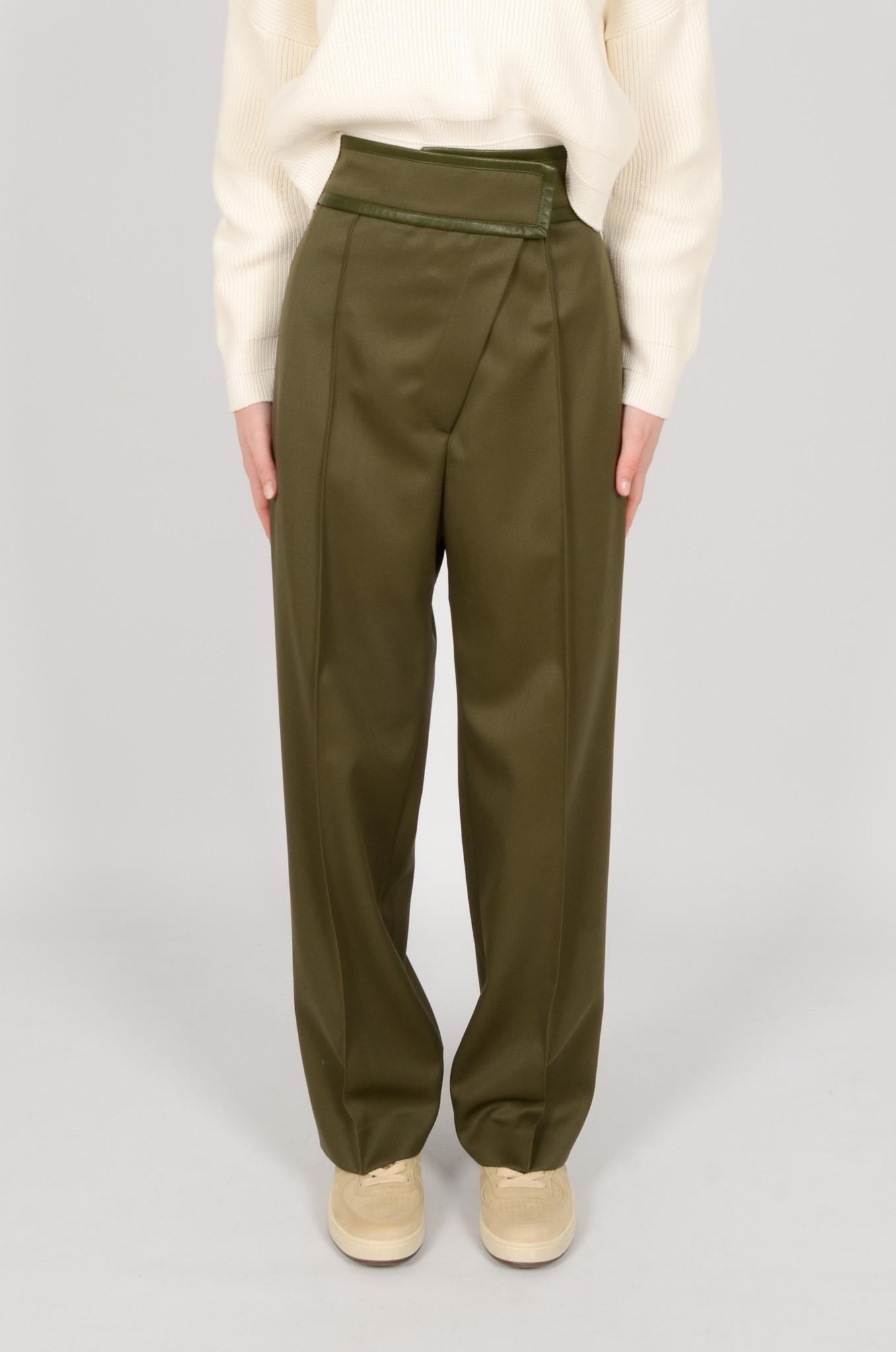CROSSED VELCRO PANTS-1